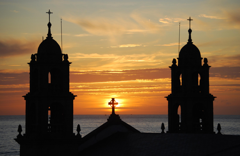 Foto playa O Coido. Desde el santuario da Virxe da Barca, en Muxía, para Jetzabel