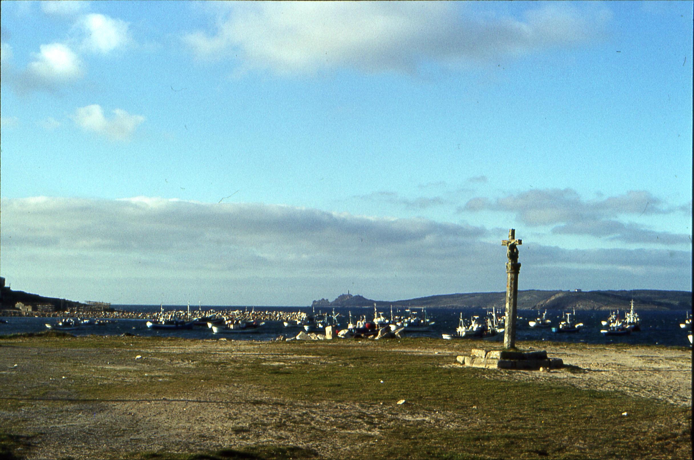 Foto playa Barreiros. Muxia - La Coruña (1988 - Noviembre)