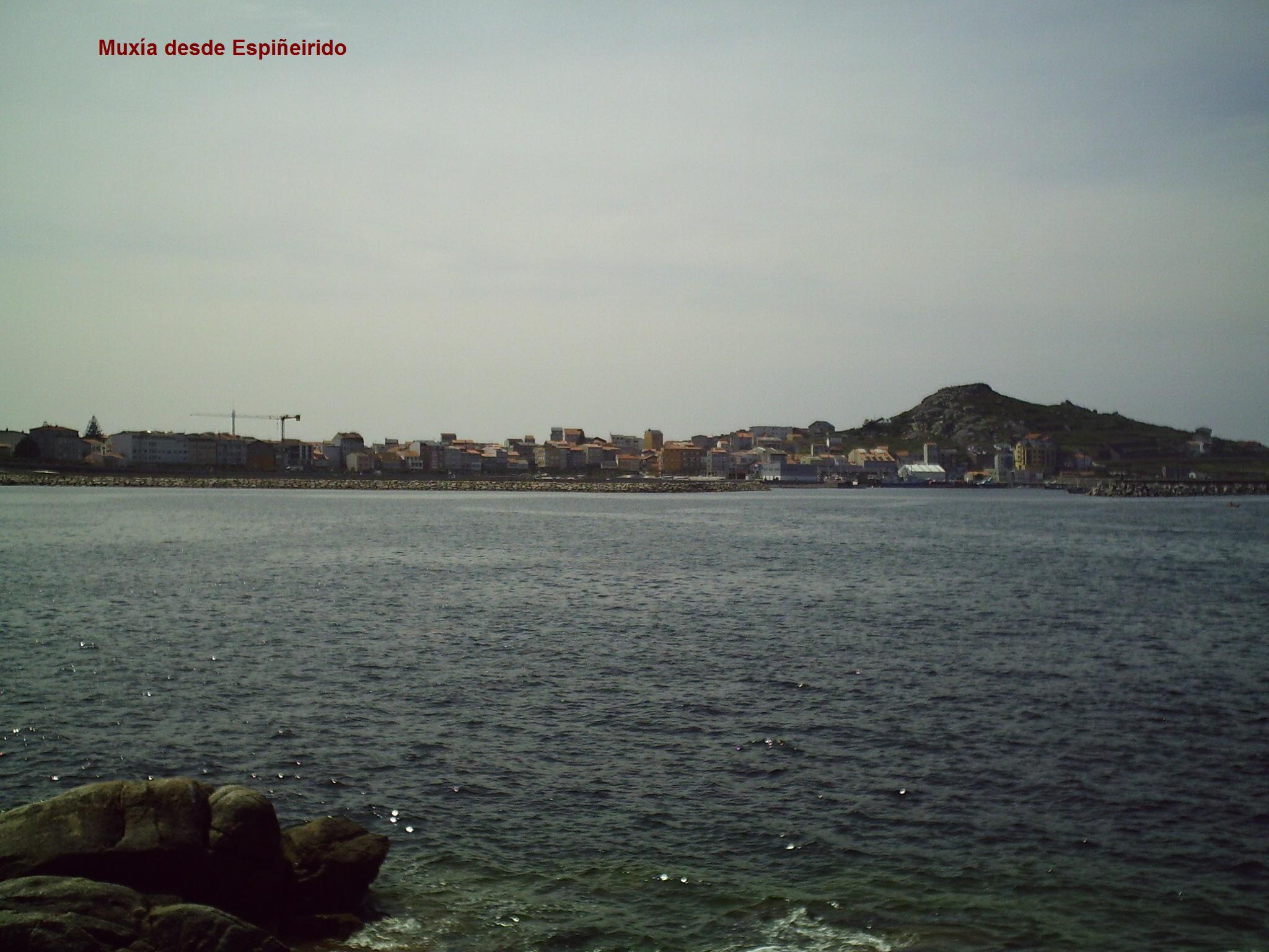 Foto playa Barreiros. Muxía desde Espiñeirido