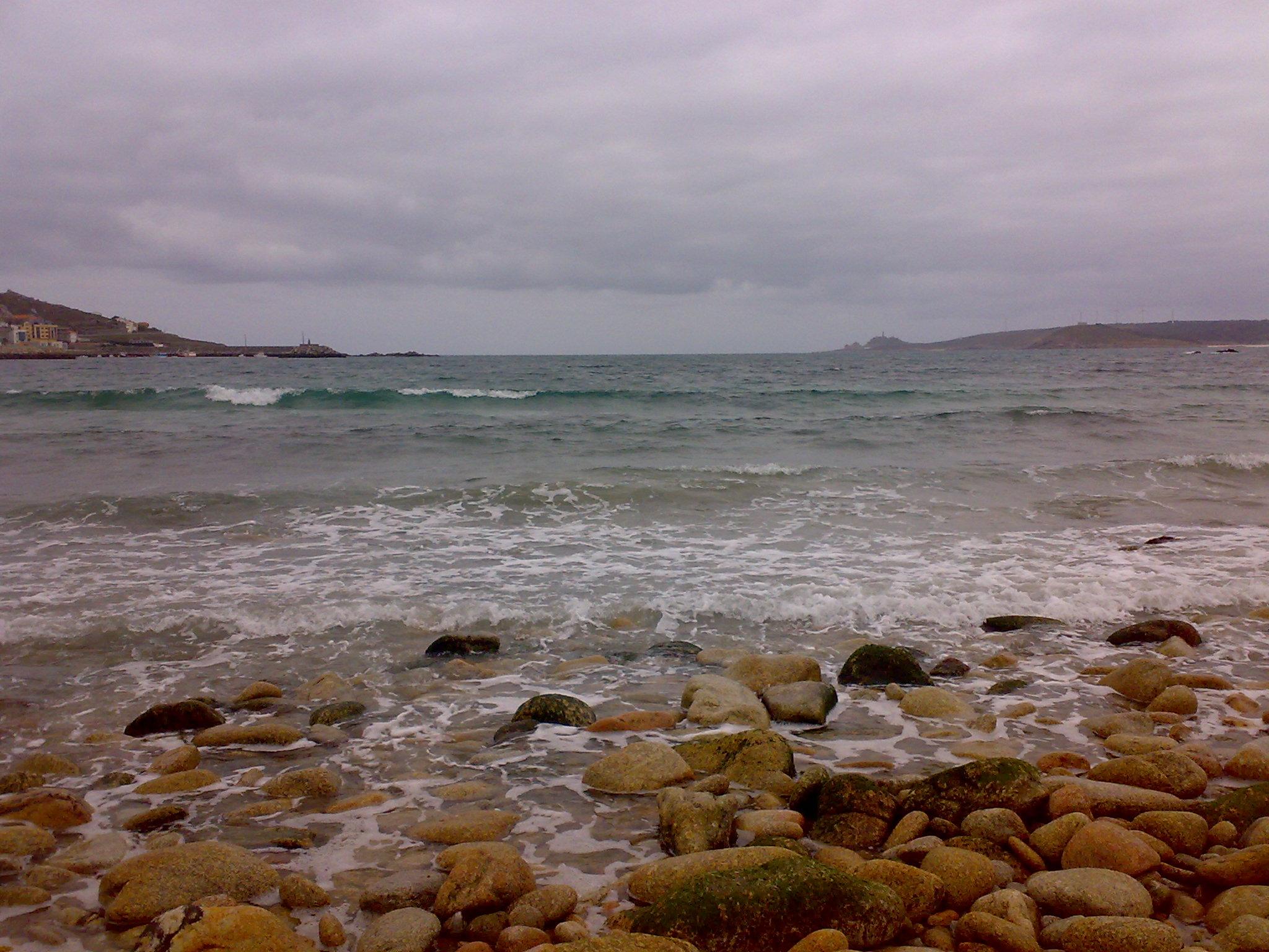 Foto playa Barreiros. MUXIA
