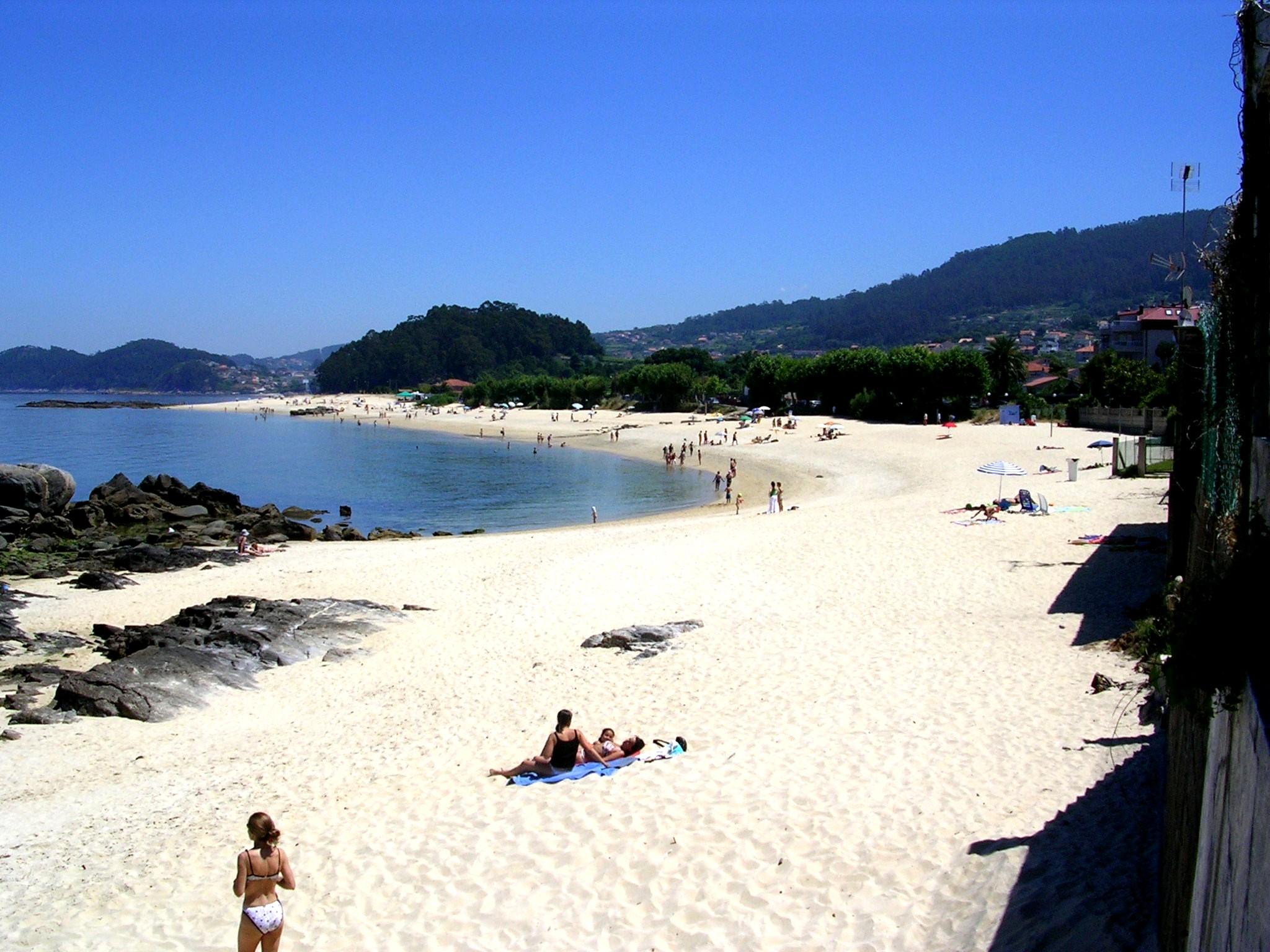 Foto playa Loureiro. Bueu(Playa de Agrelo)1