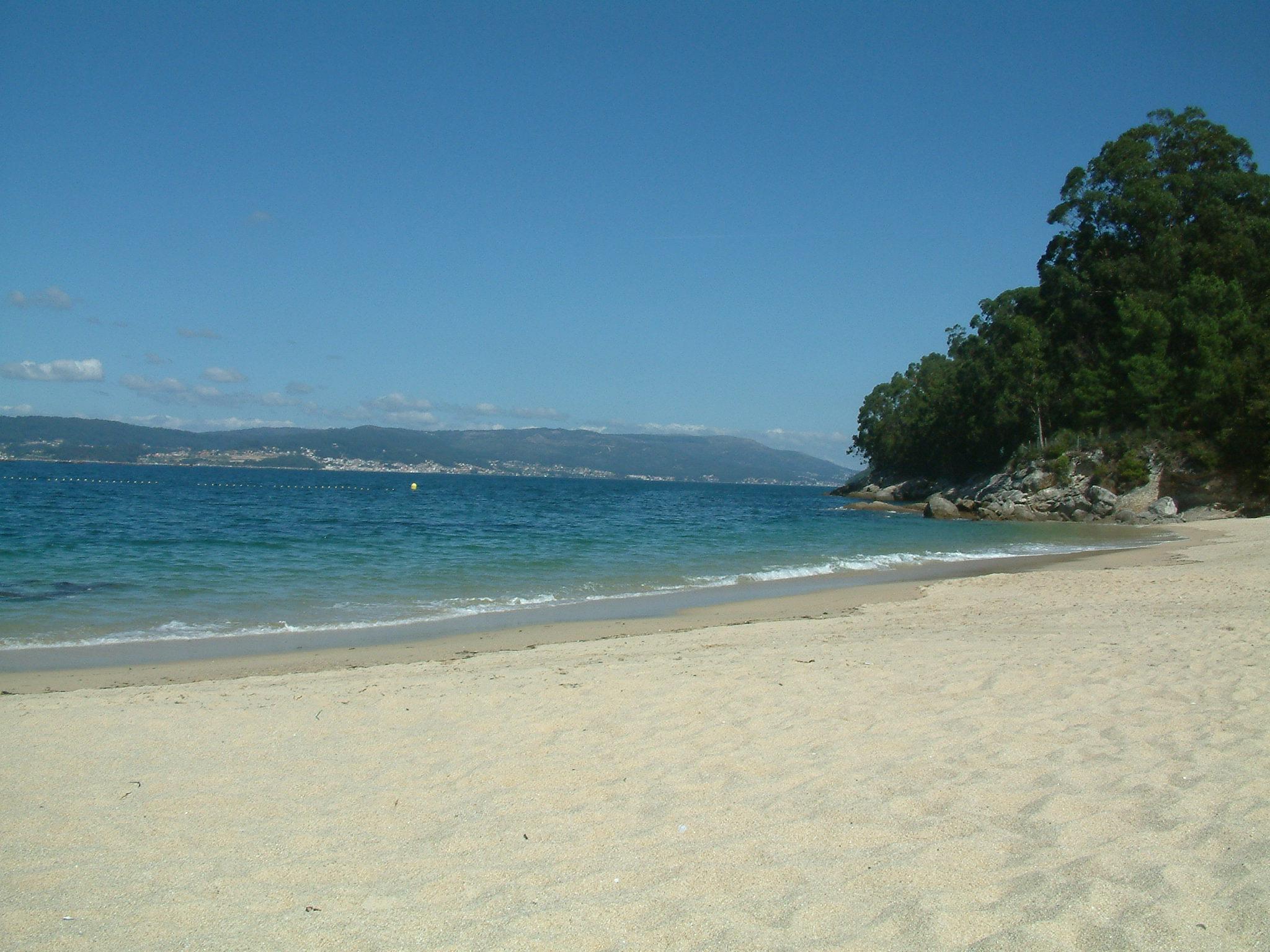 Foto playa Loureiro. Porto Mayor