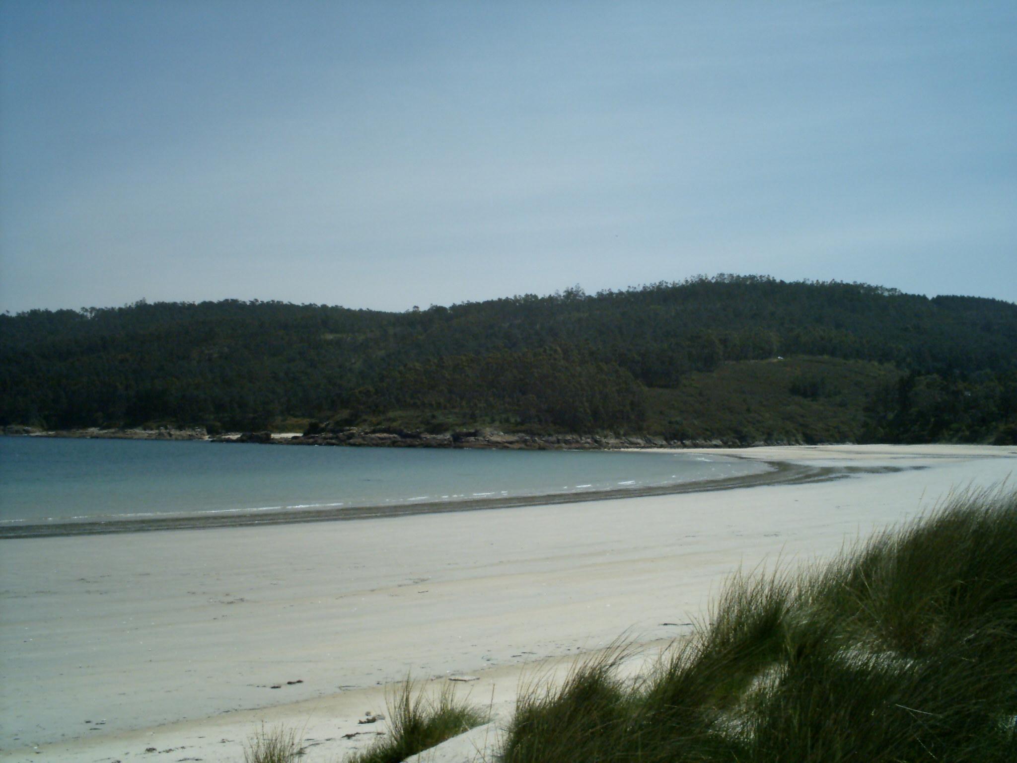 Foto playa Os Muiños / Aréa Maior. Praia Muíños 010506