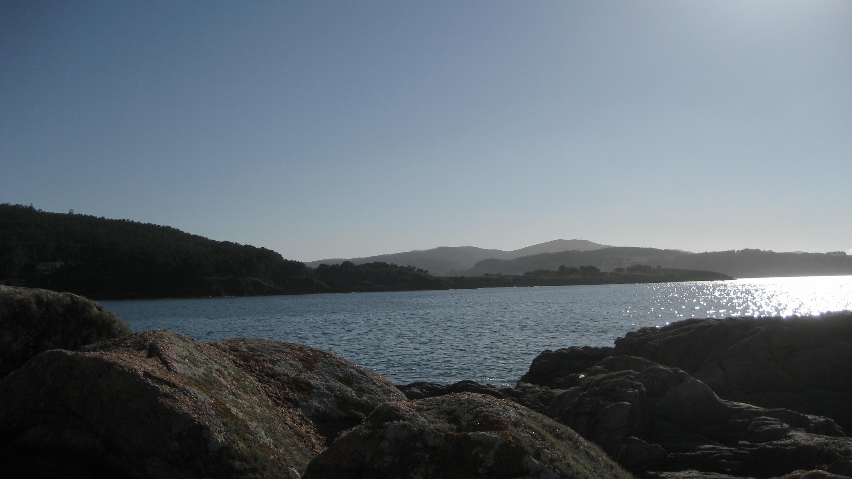 Foto playa Rego Dos Coiros. camariñas