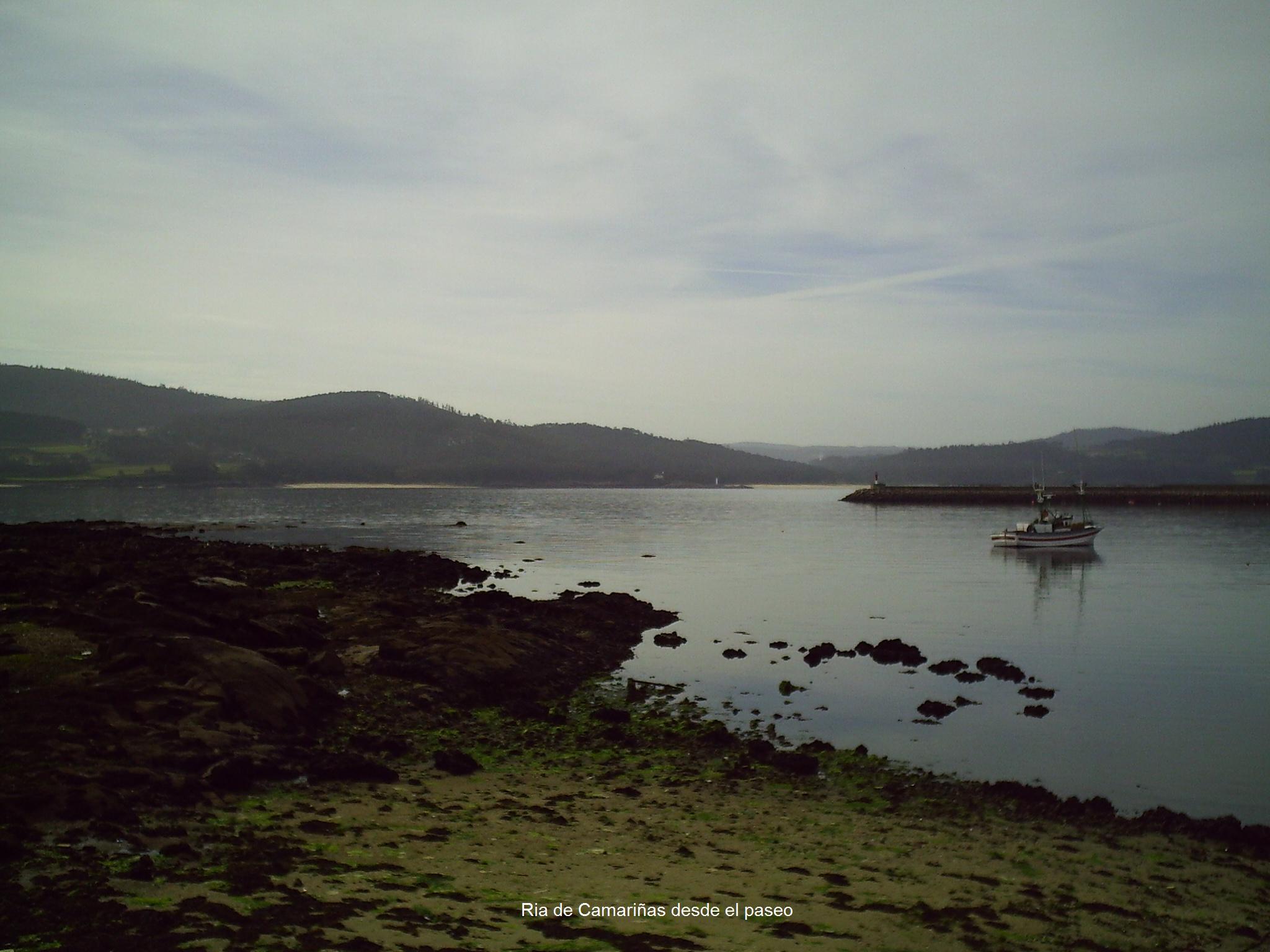 Foto playa Lingunde. Ria de Camariñas