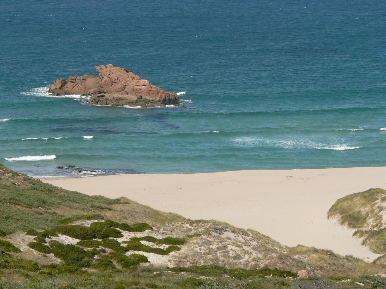 Foto playa Area Longa / Area Grande. Desert Beach at Costa da Morte