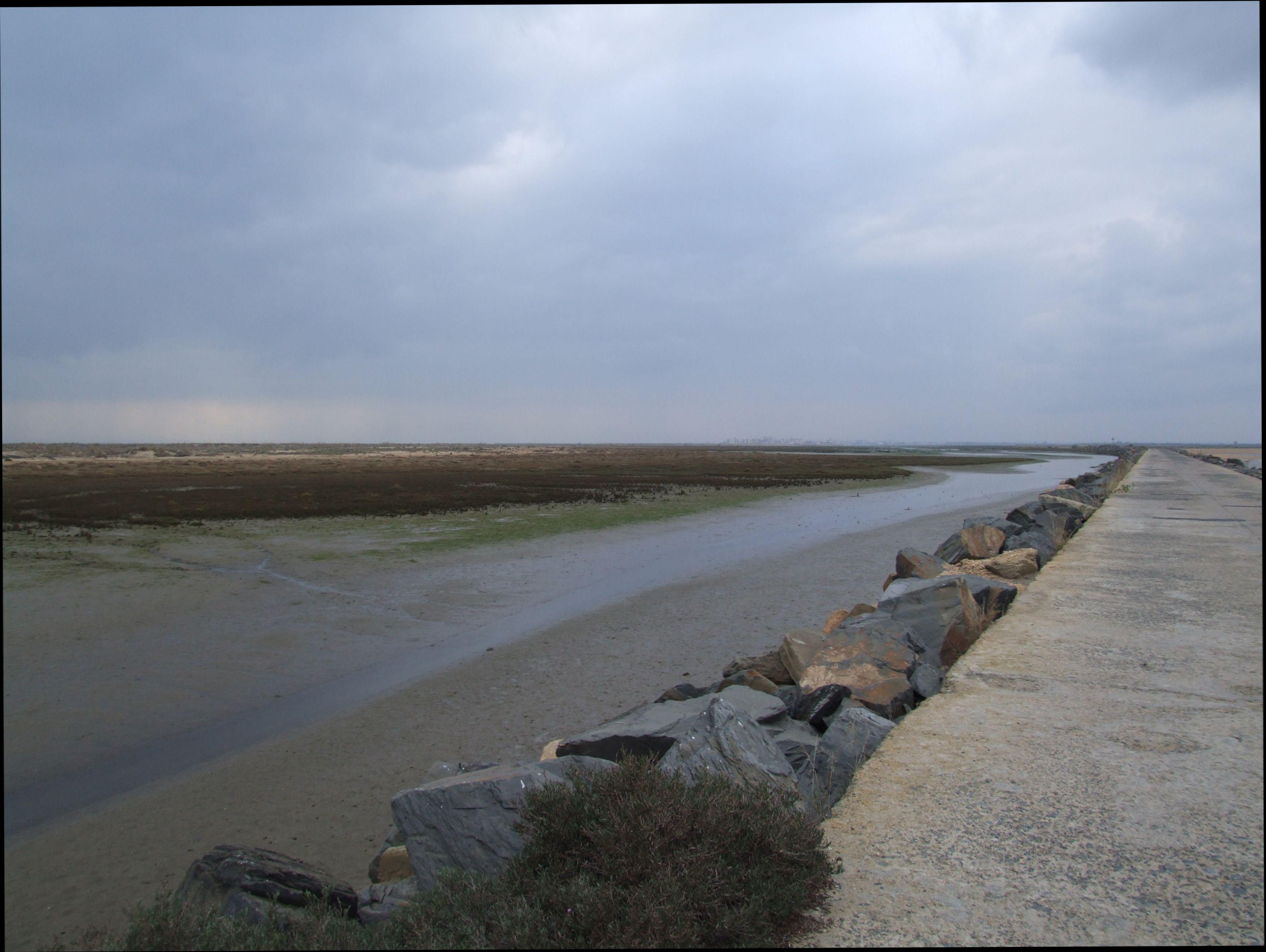 Foto playa Espigón. Isla de Saltes