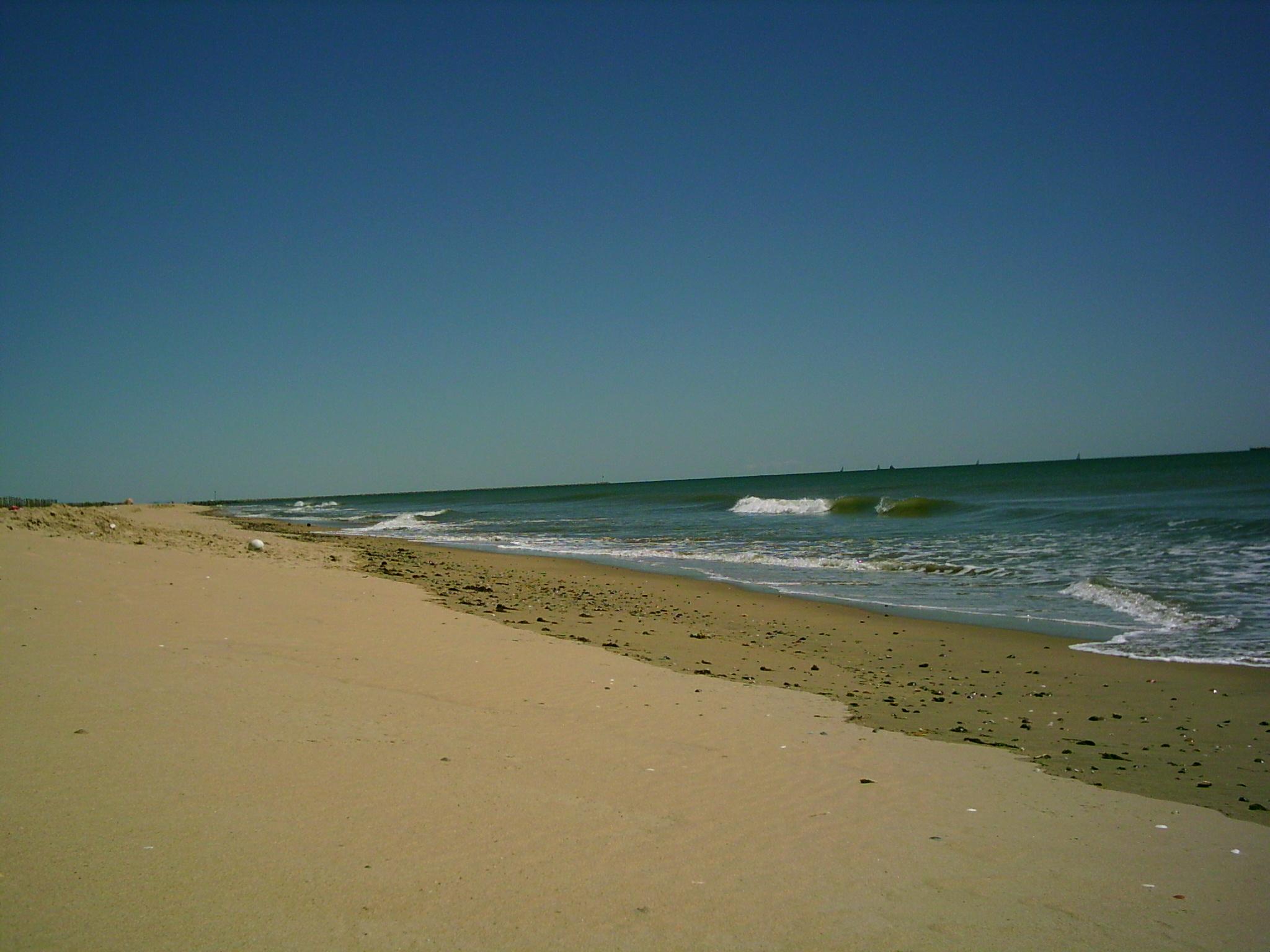 Foto playa Espigón. Espigon de Huelva