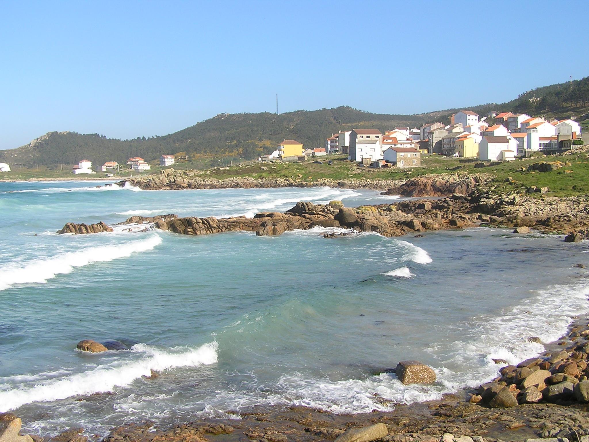 Foto playa Arou. Arou