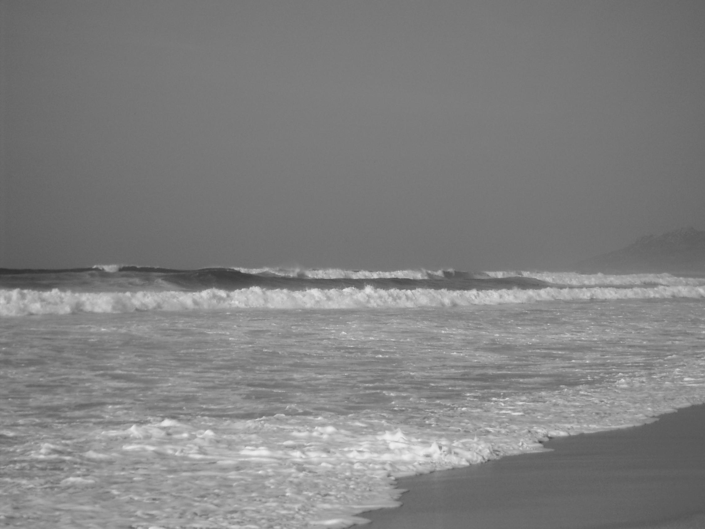 Foto playa Traba. Praia de Traba