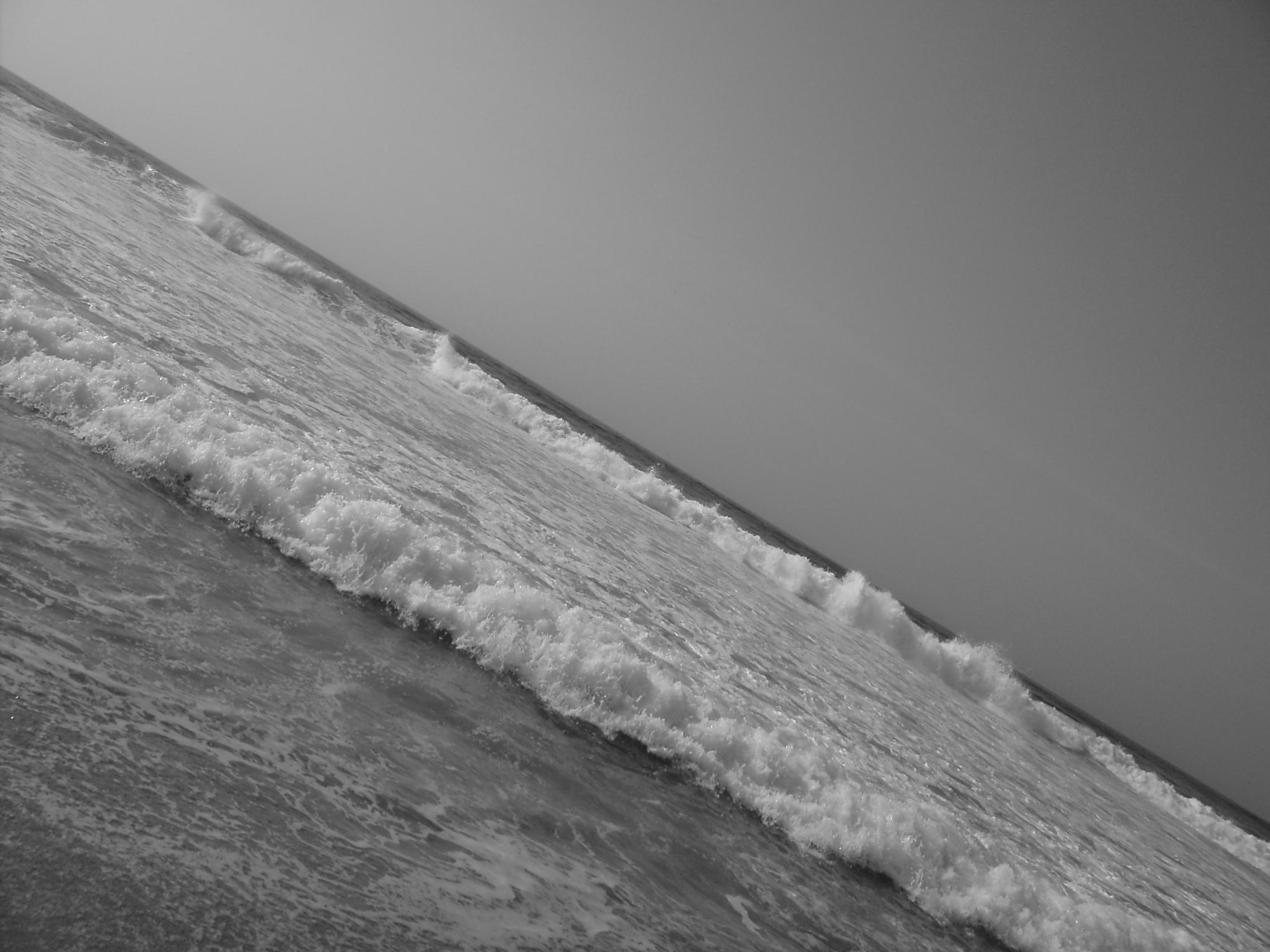 Foto playa Traba. Bandeira de Galicia