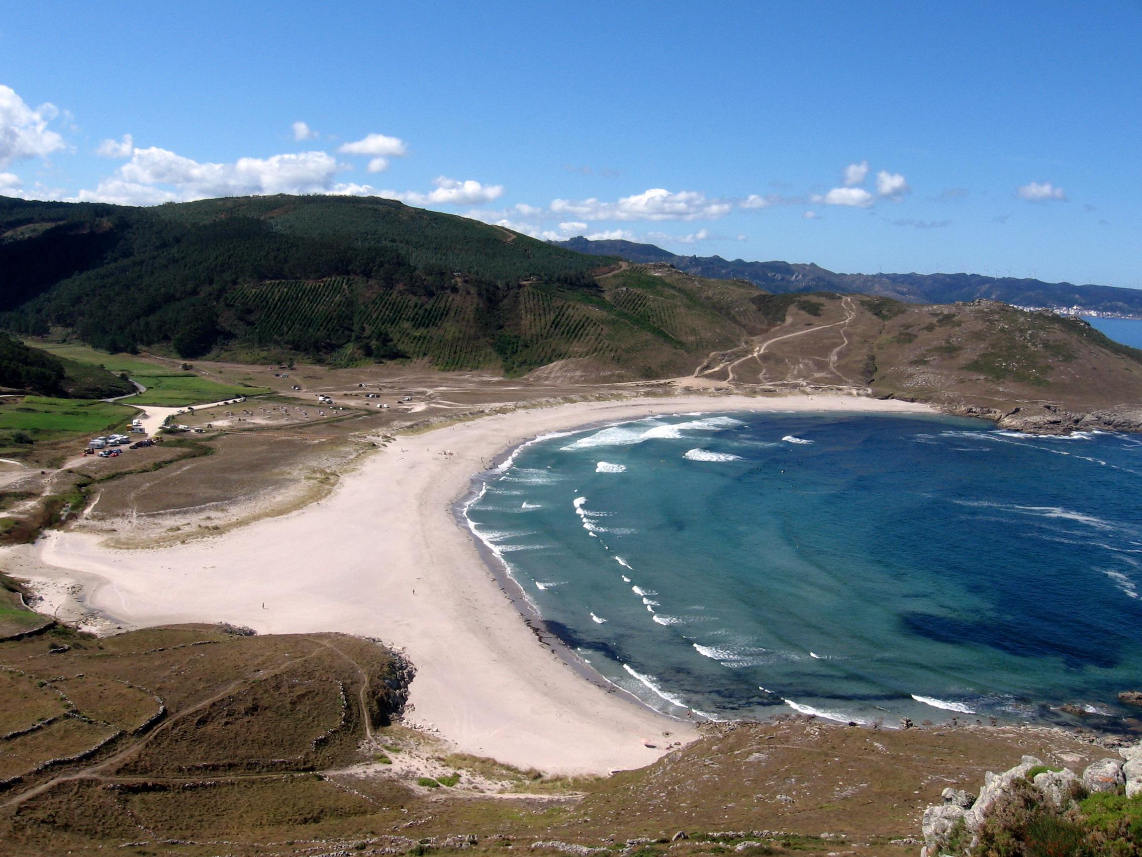 Foto playa Arnado. Playa salvaje de Soesto cerca de Laxe,A Coruña