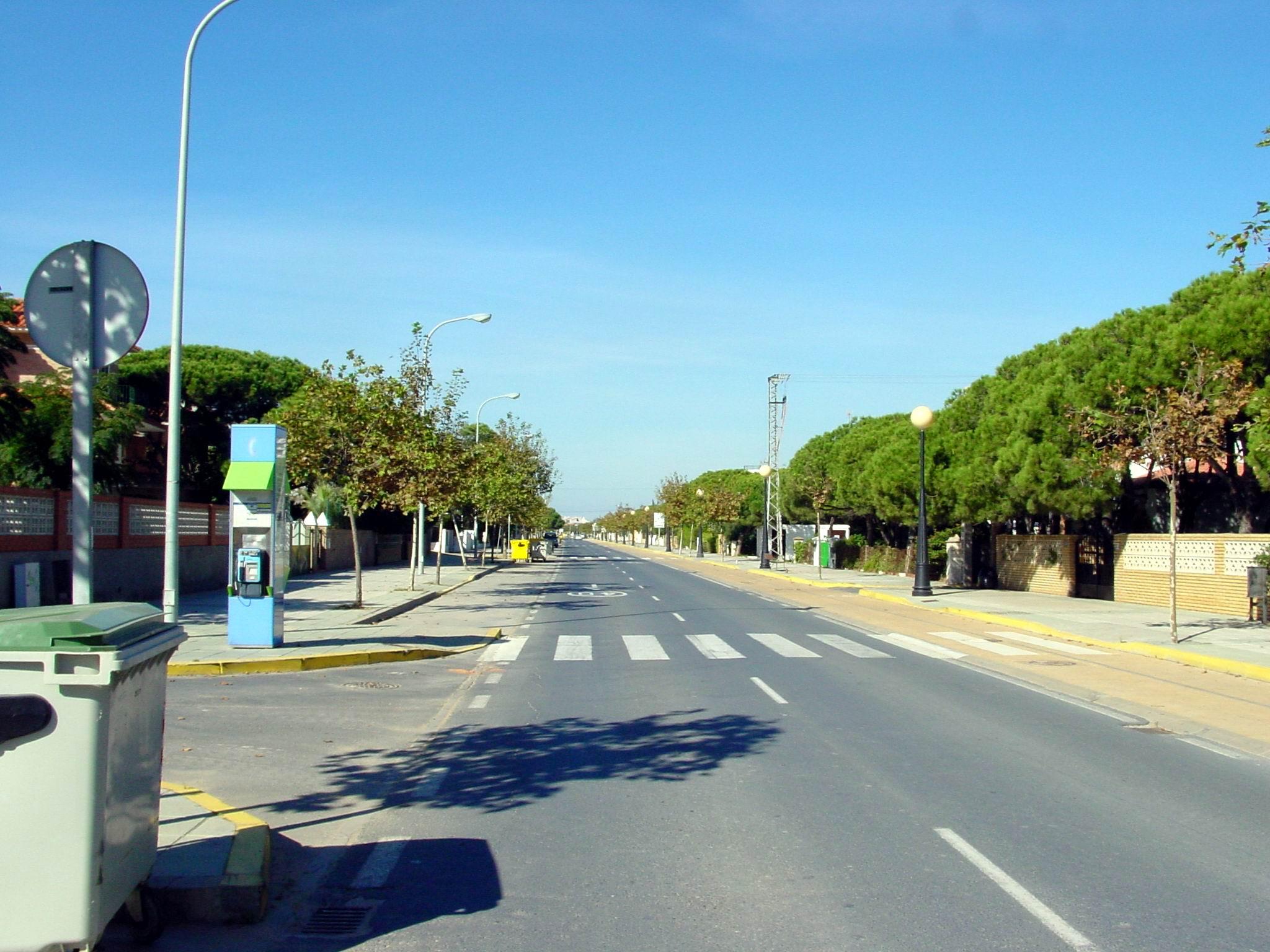 Foto playa Punta Umbría. Avenida del Oceano 2
