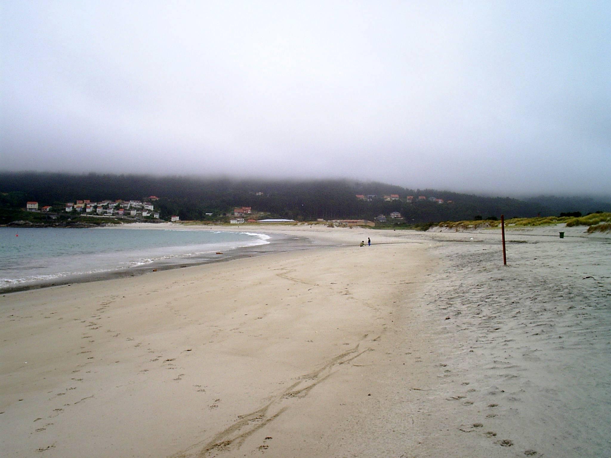 Foto playa Laxe. praia de Laxe