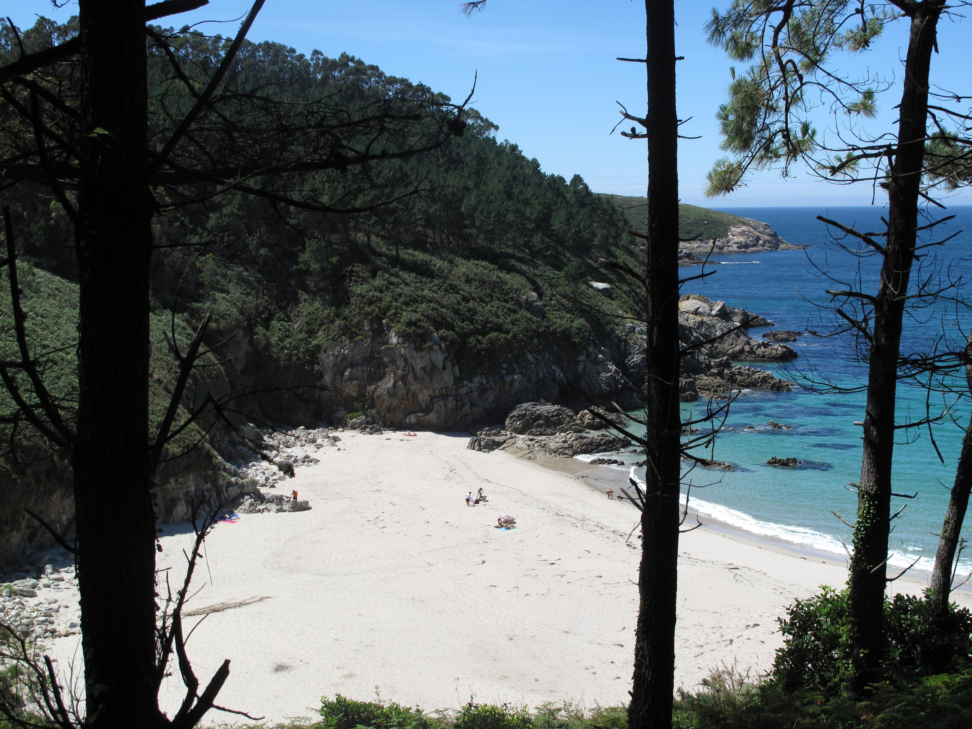Foto playa Rebordelo. Playa de San Pedro, Laxe