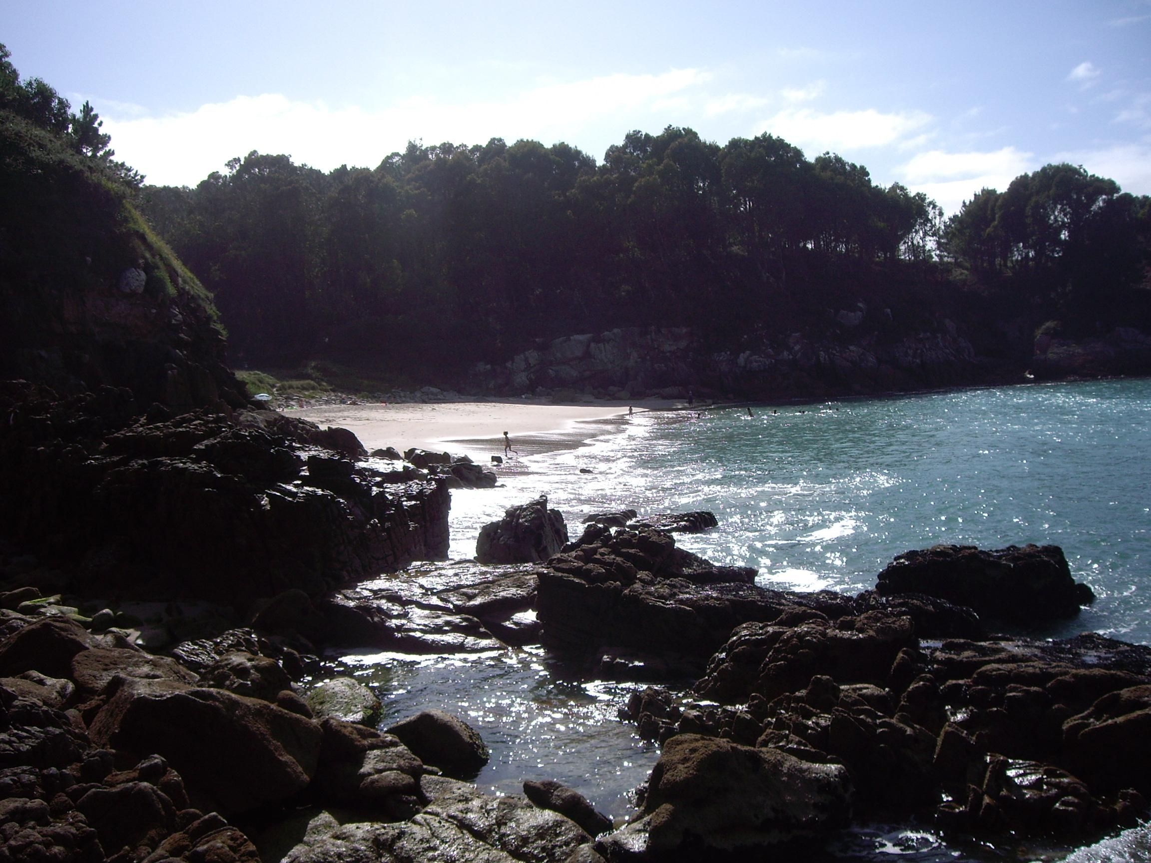 Foto playa As Maseiras. Playa Area das Vacas (Canduas)