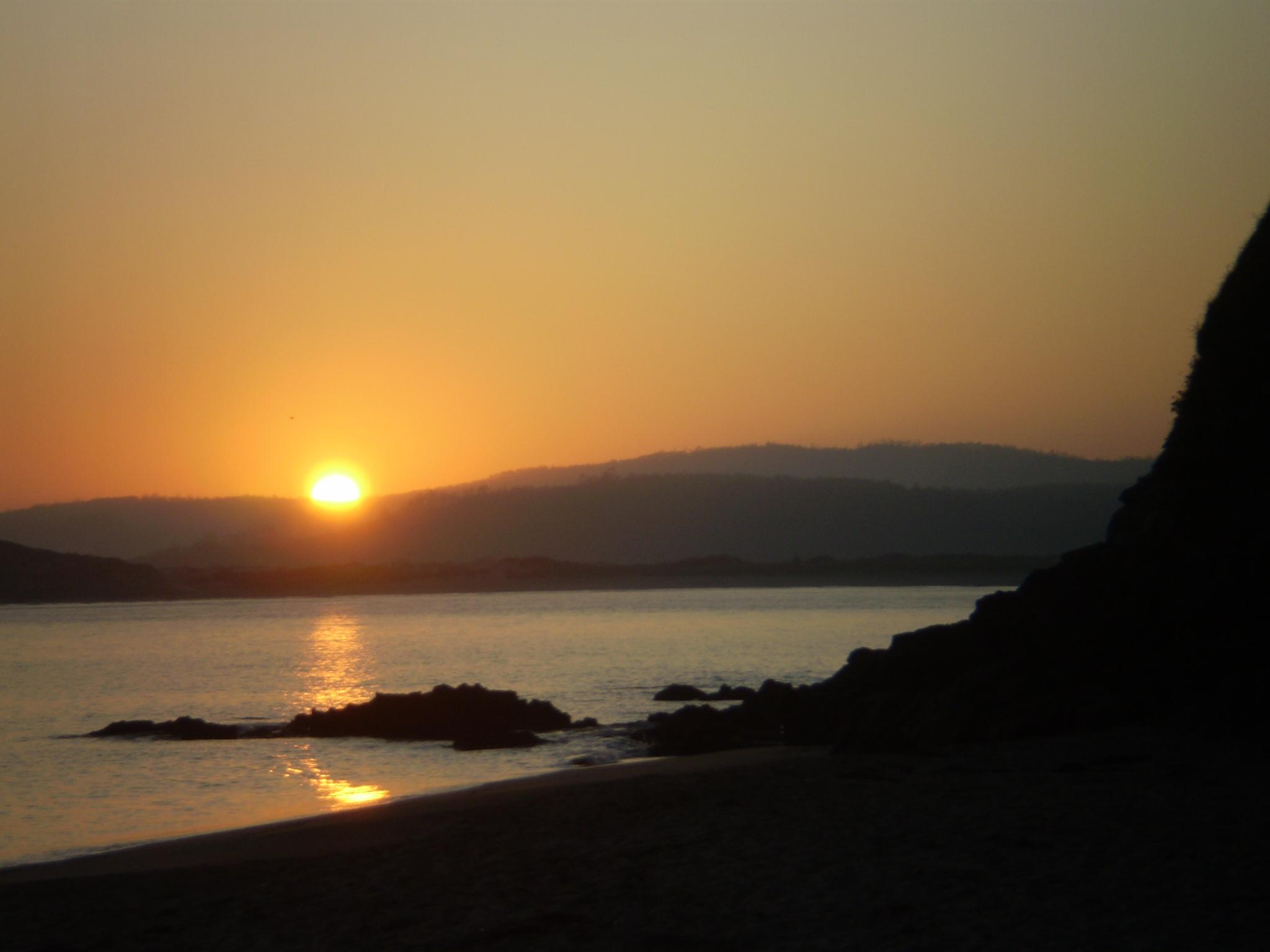 Foto playa As Maseiras. Paisaje en calma