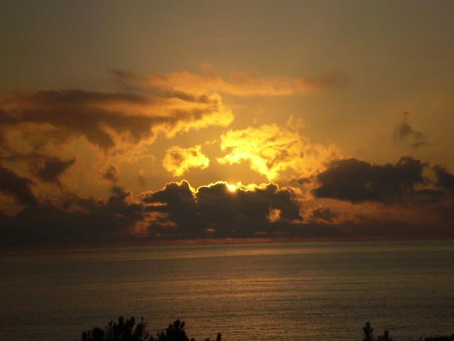 Foto playa As Maseiras. Oro gallego en el cielo