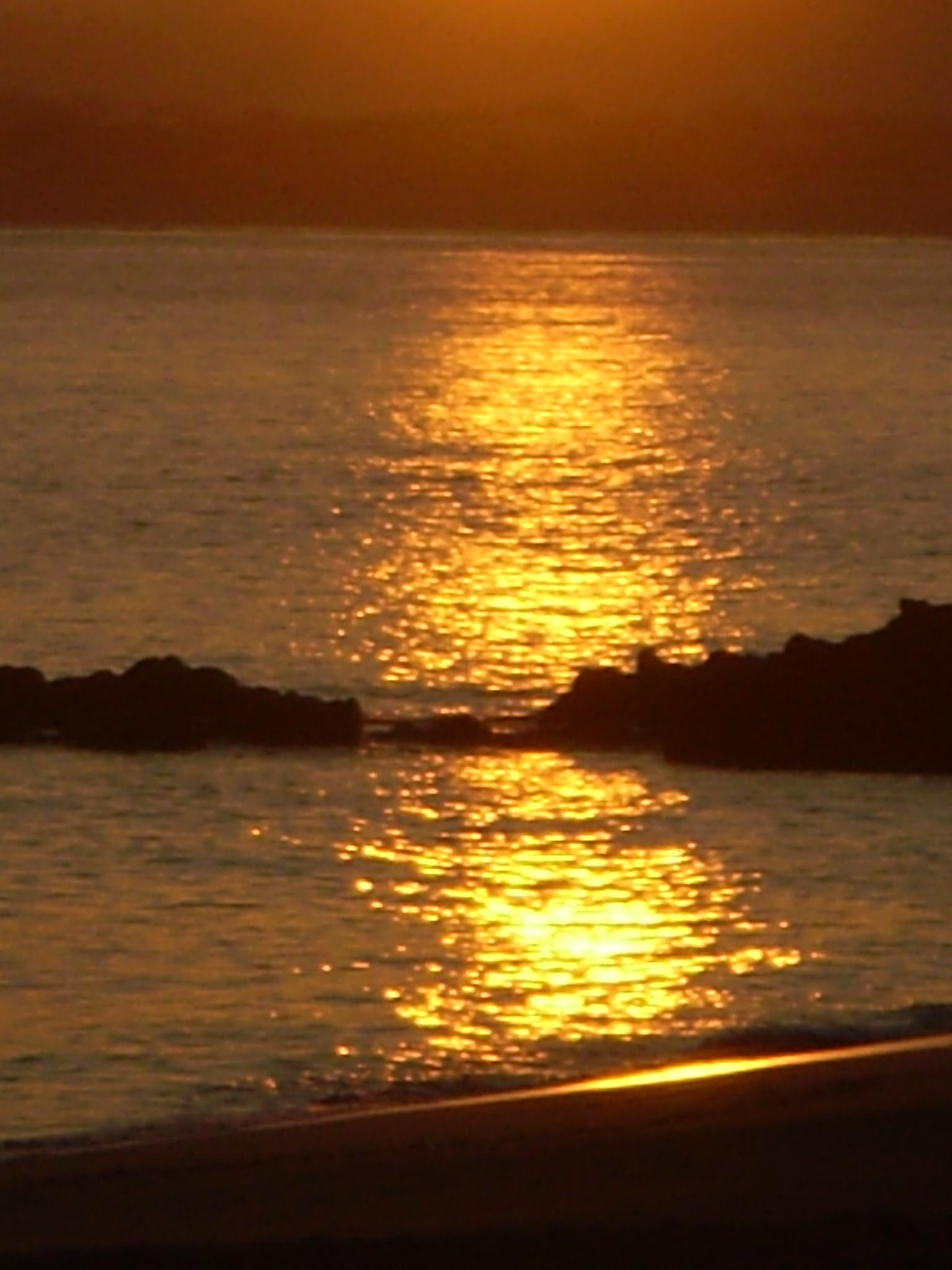 Foto playa As Maseiras. Reflejos de Ra