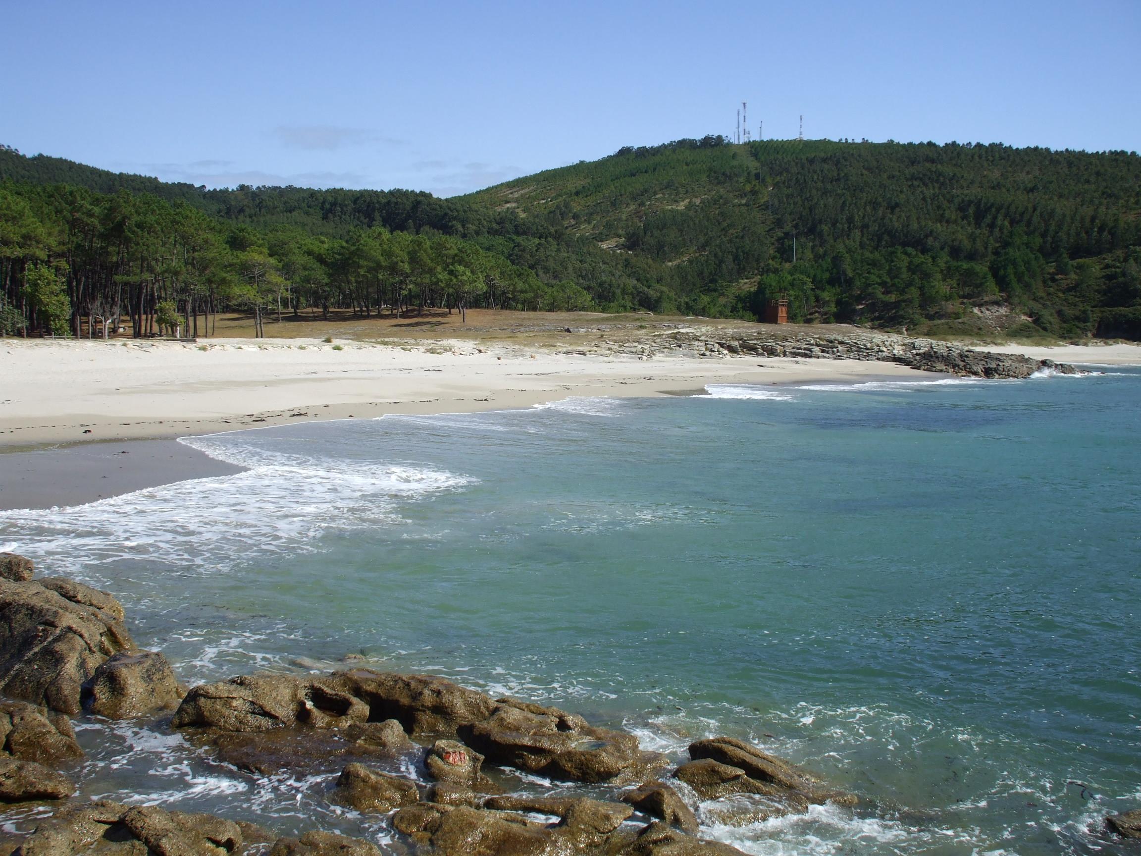 Foto playa Balarés. Praia de Balarés