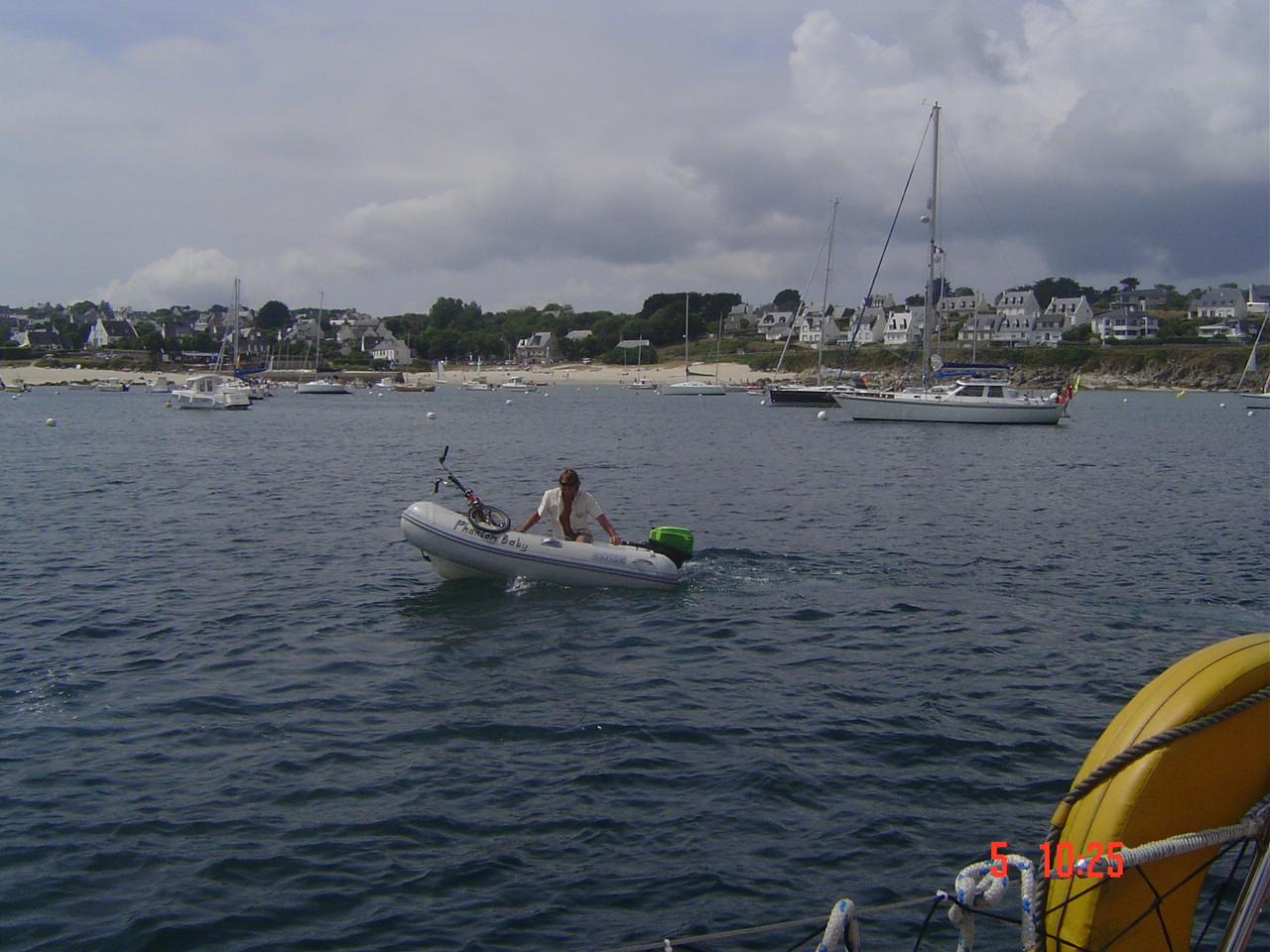 Foto playa O Osmo. boat 028