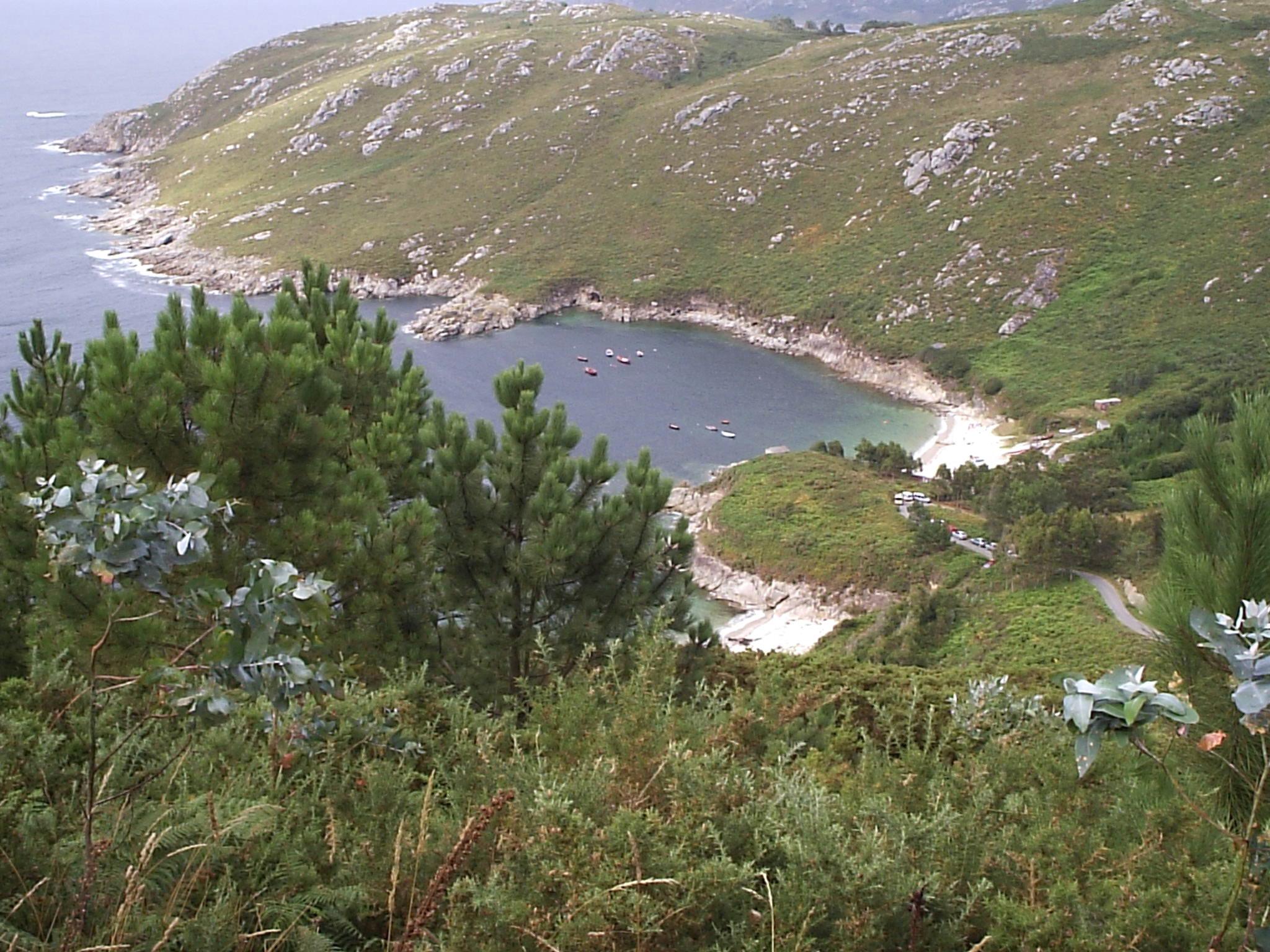 Foto playa A Barda. playa en corme