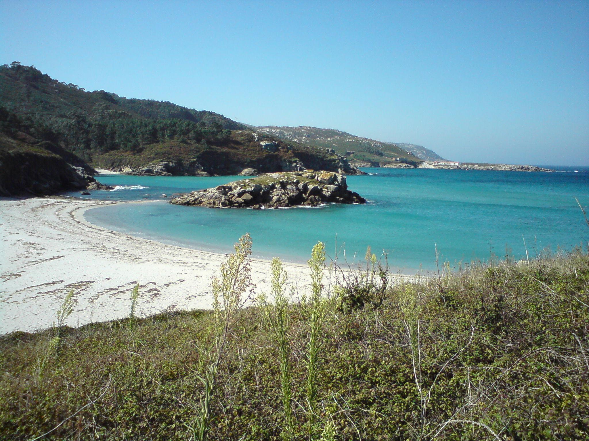 Playa Santa Mariña de Brantuas