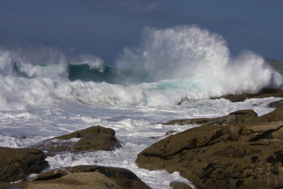 Foto playa Barizo. ¿ Por qué lo llamarán costa da morte ?