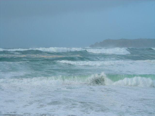 Foto playa Seiruga / Esteiro / Ceiruga. Temporal en Seiruga
