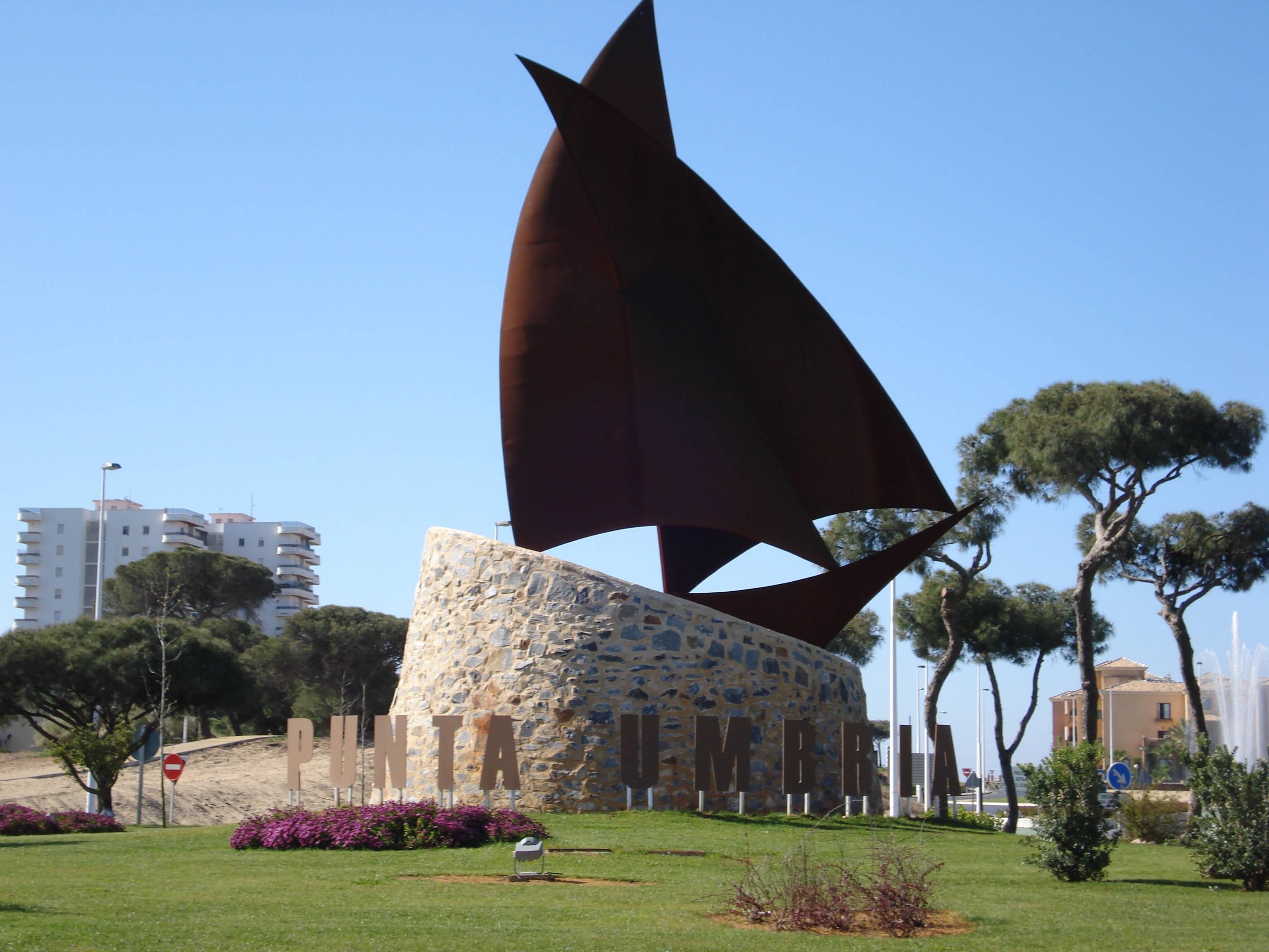 Foto playa Los Enebrales. Nueva entrada a Punta Umbrí