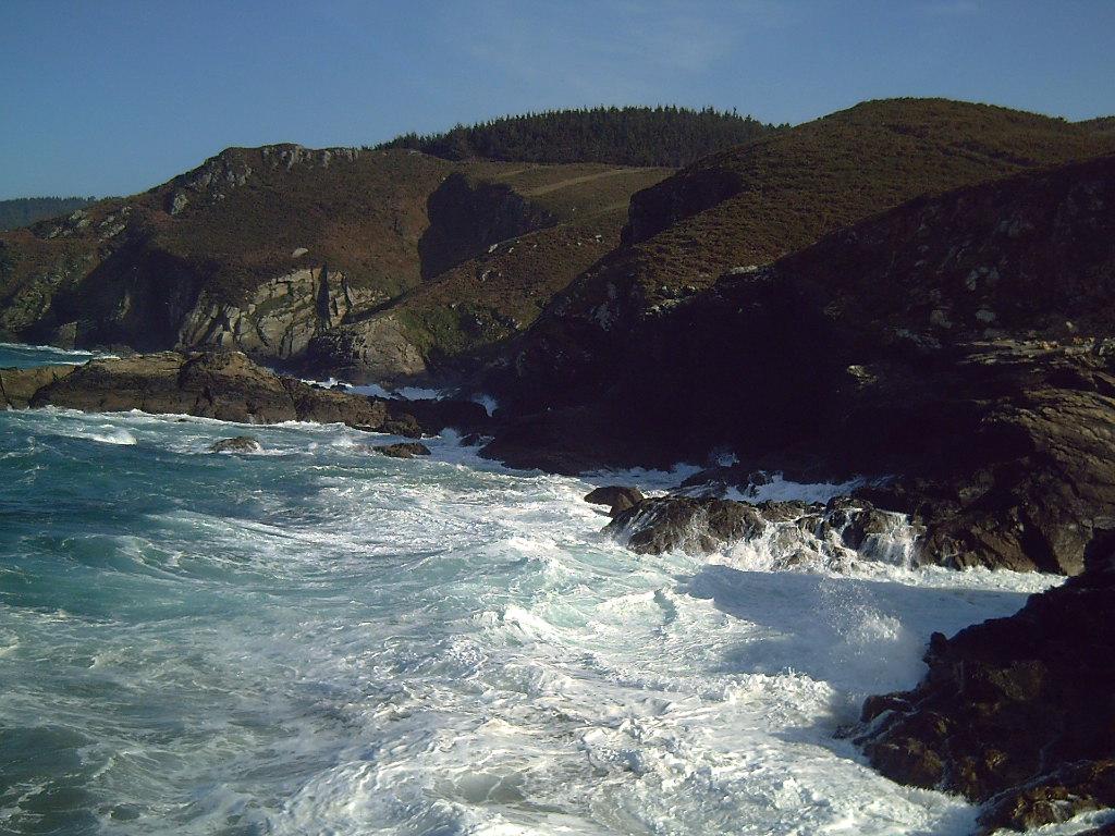 Foto playa Reixa Chica. Costa de Cerqueda(Muiños)