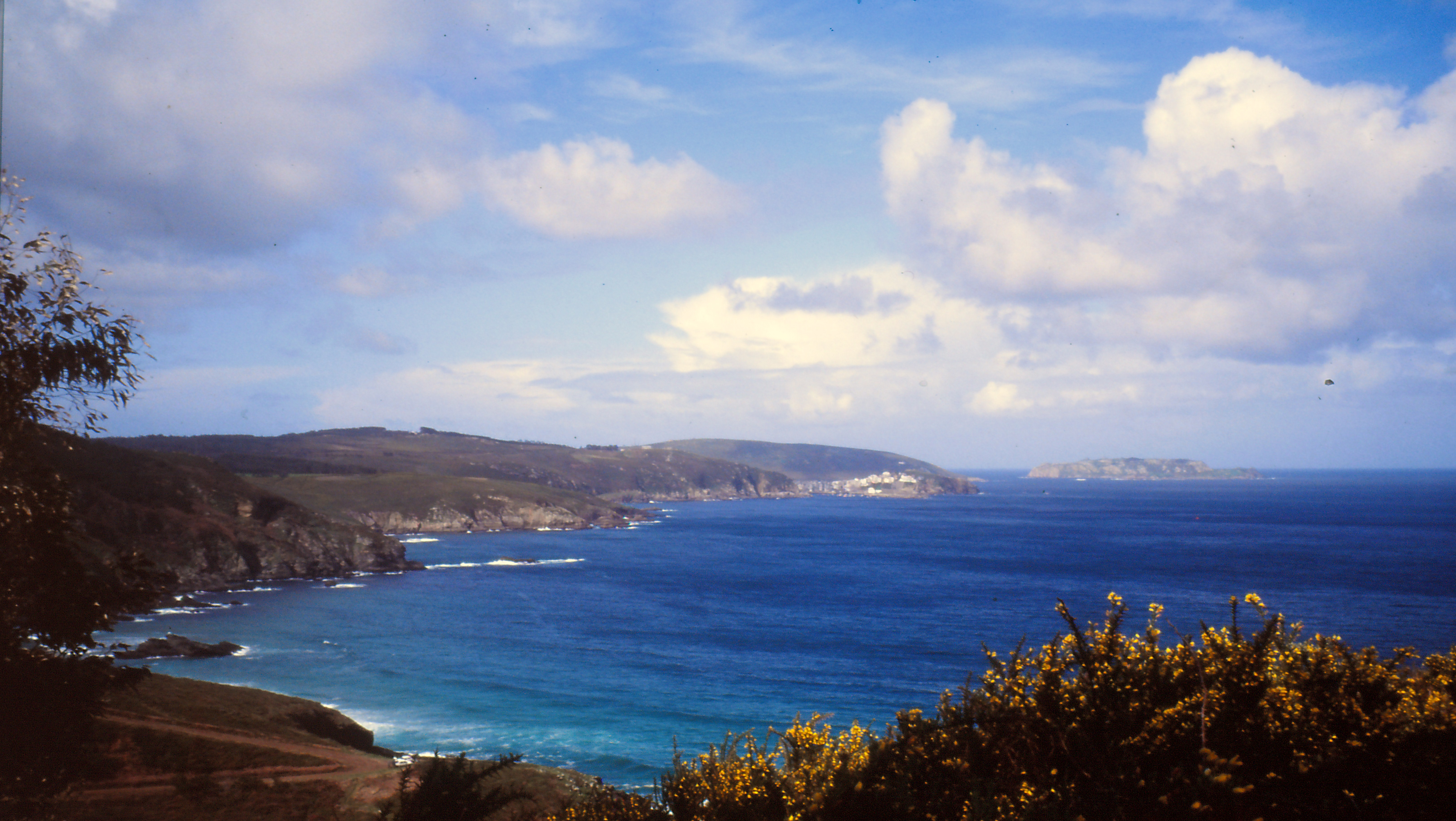Foto playa San Miro. costa de Cambre e Cerqueda