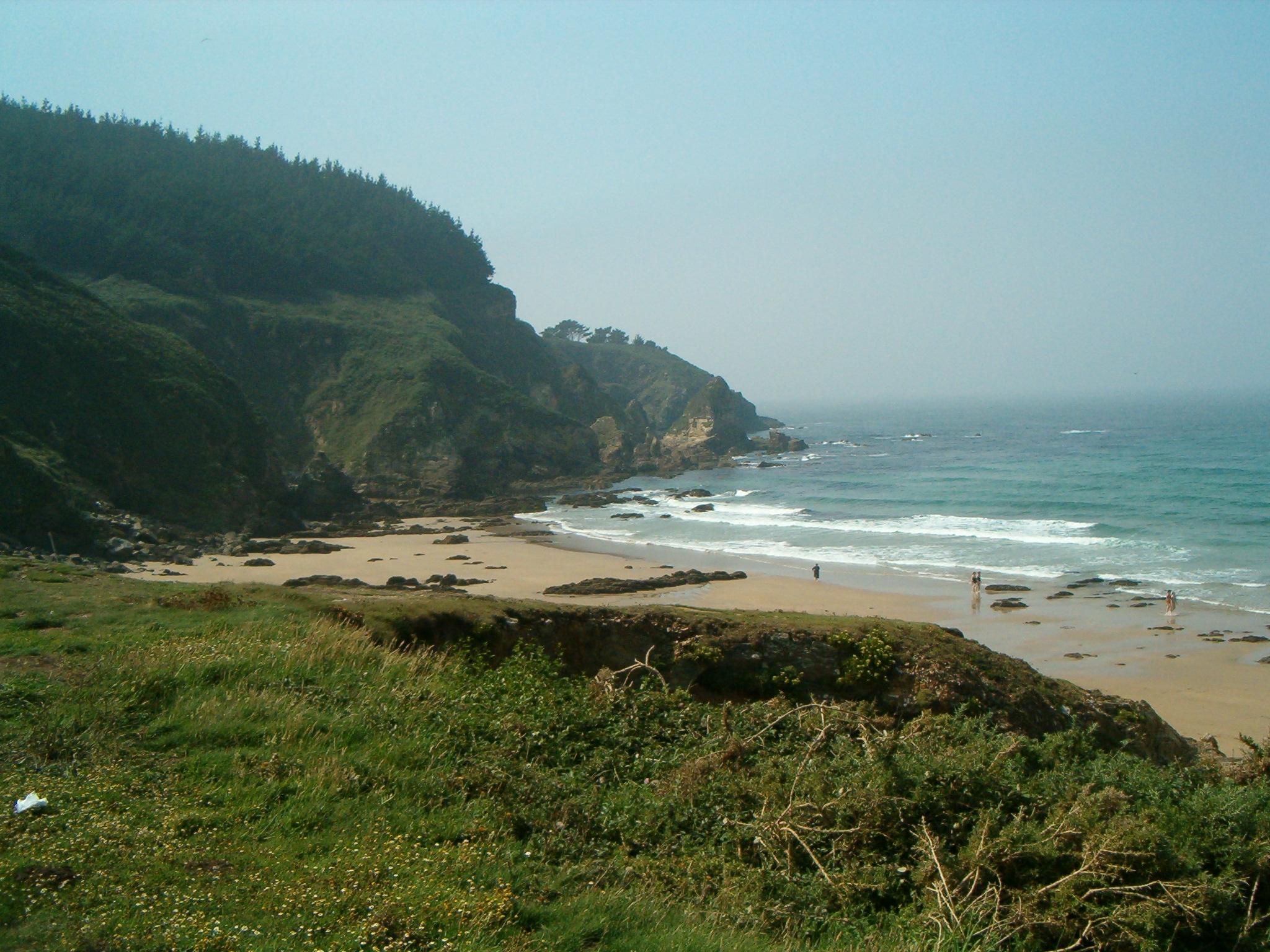 Foto playa As Torradas. Praia de Riás