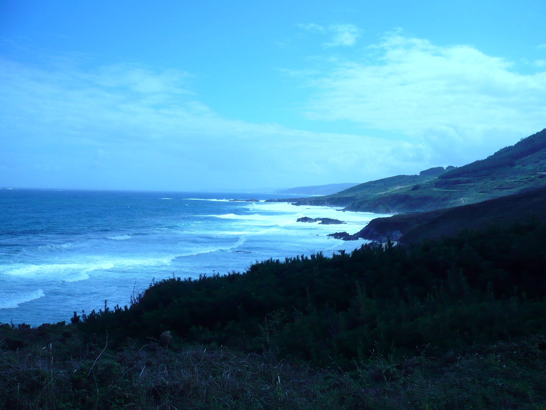 Foto playa Santa Mariña. O Rias