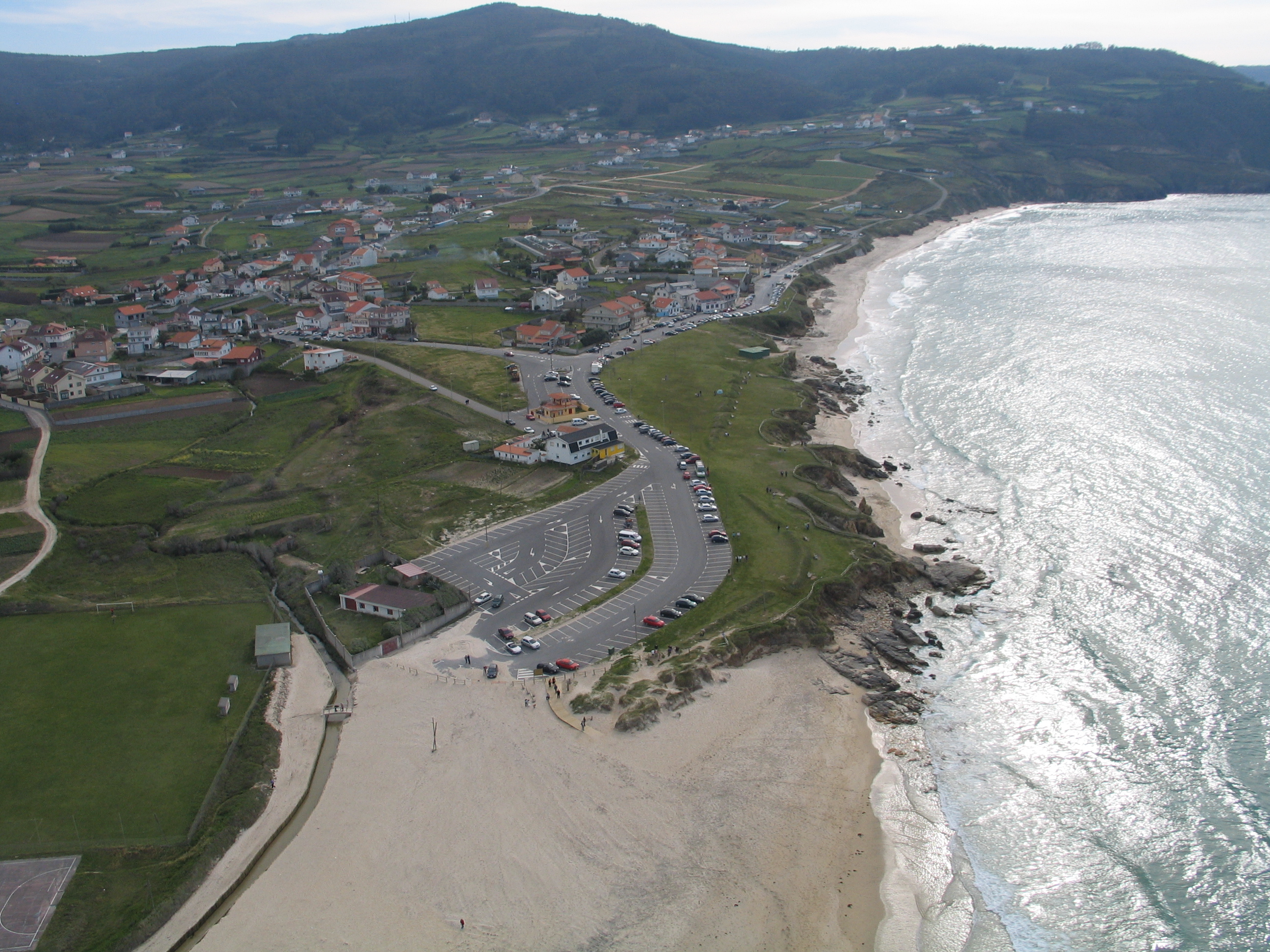 Foto playa Razo / Arnados. Praia de Razo
