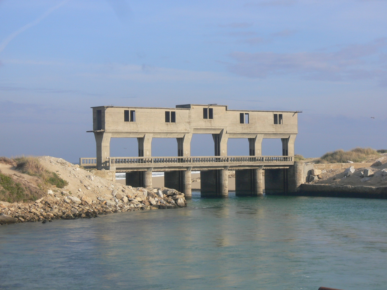 Foto playa Baldaio / Saiñas. Marisma de Baldaio
