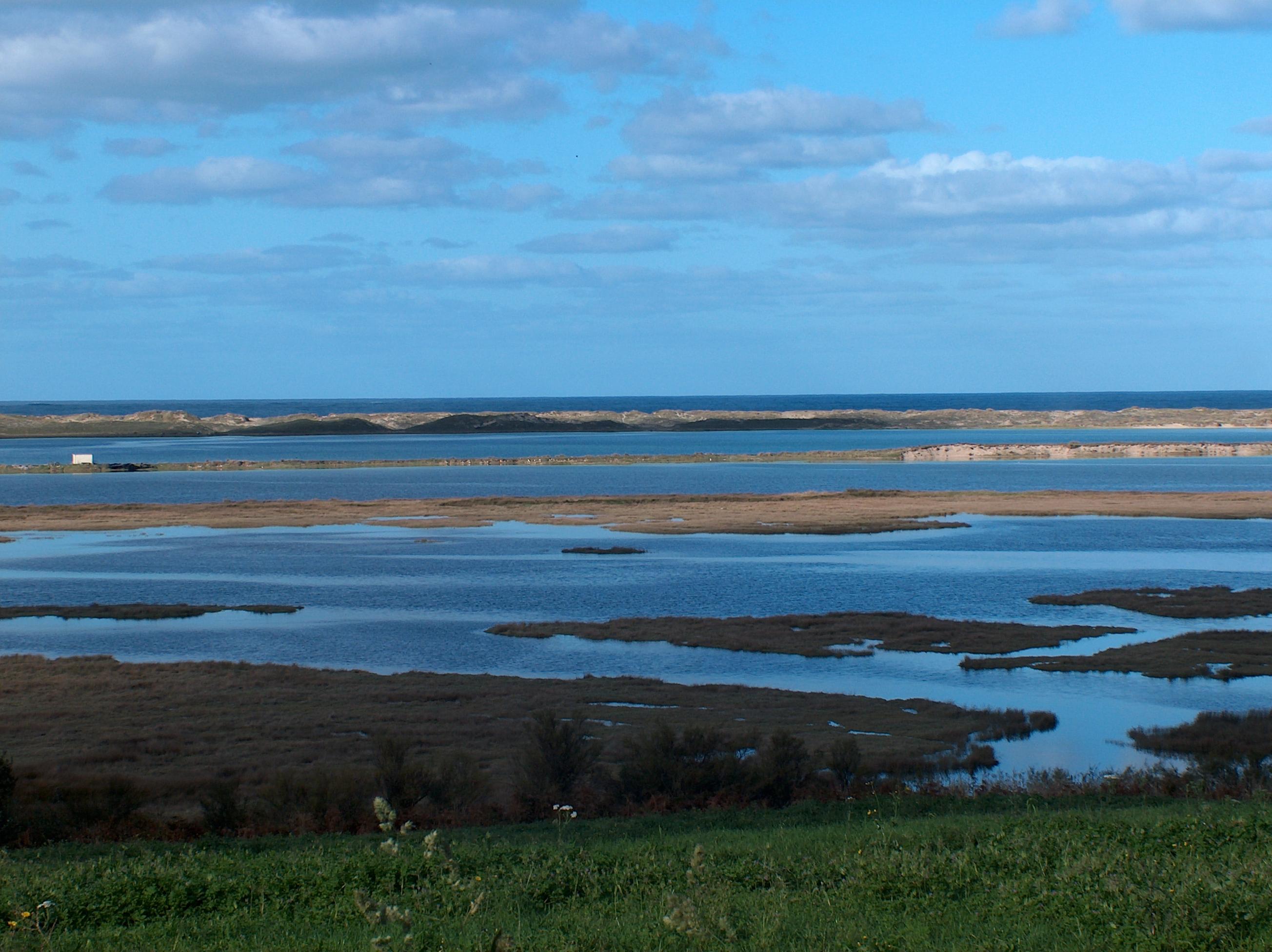 Foto playa Baldaio / Saiñas. lagoa de baldaio