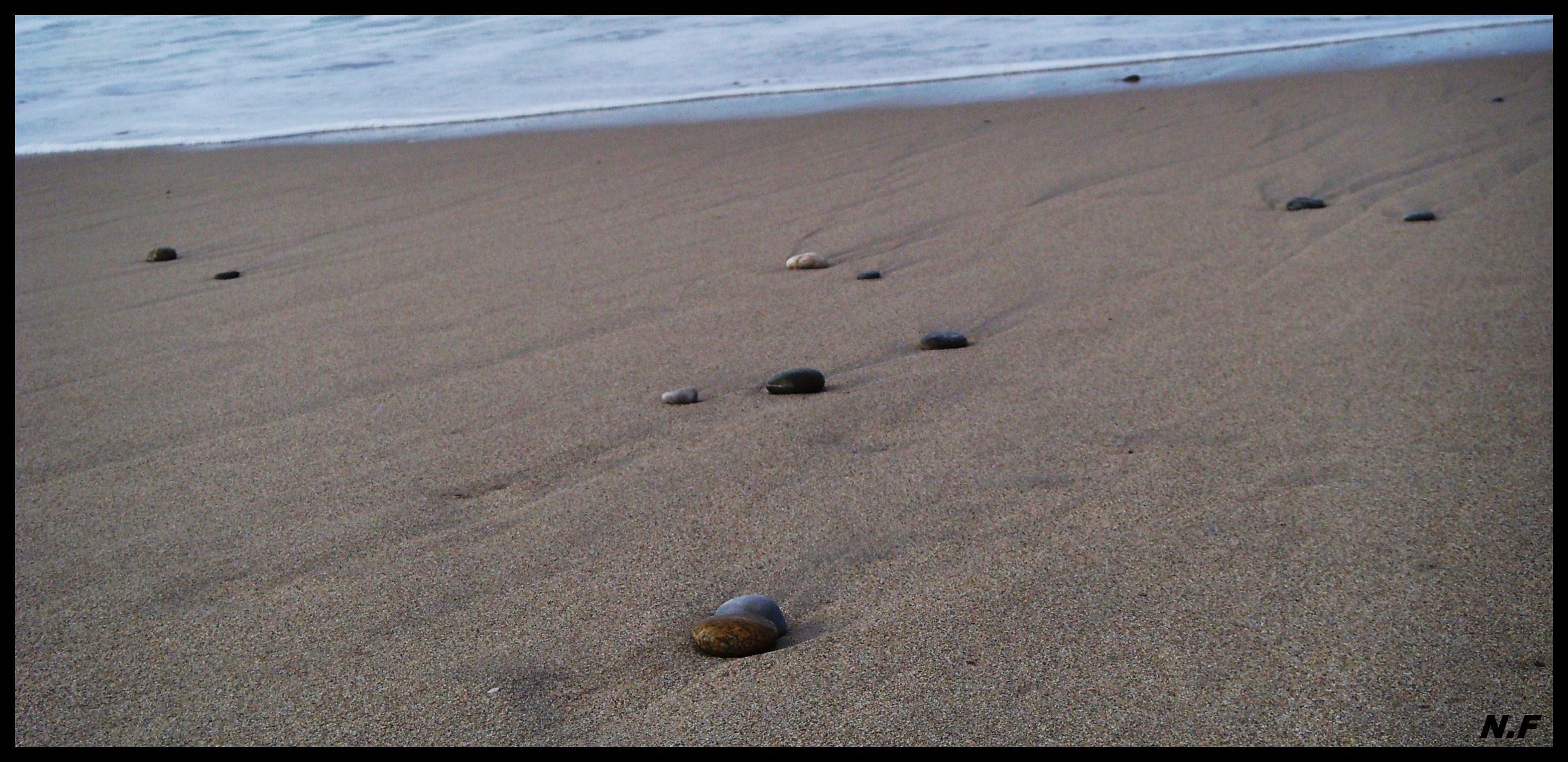 """Foto playa Baldaio / Saiñas. REFLEXIÃ""""N Â¡Â¡Â¡Â¡Â¡ .....:))  ( Dedicada a PACO Salvador un andaluz ....  con mucho arte   :))    )       ♫♪"""