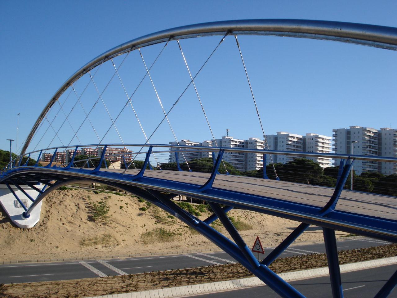 Foto playa Los Enebrales. Pasarela Peatonal - 02
