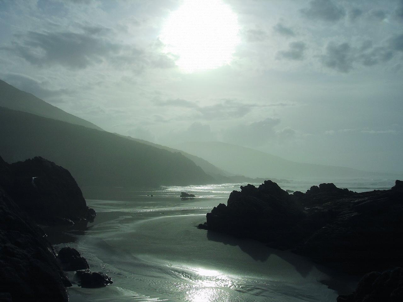 Foto playa Leira / Arnela / Monteforte. atardecer en leira(baldaio)