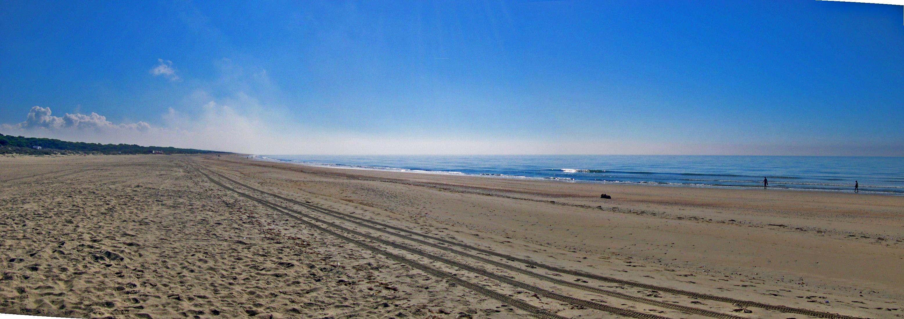 Foto playa La Bota. ¡Que páz!