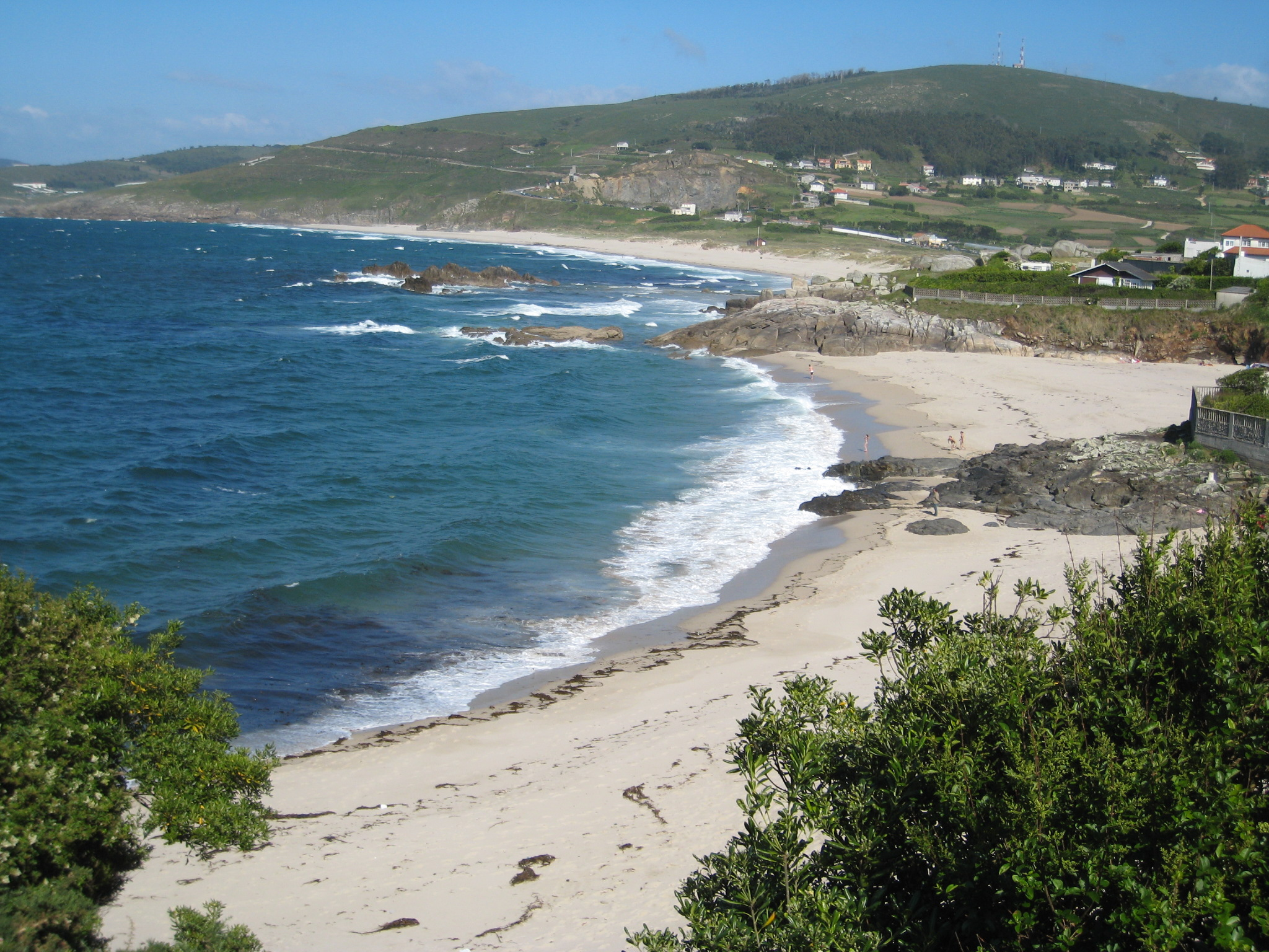 Foto playa Valcobo / Valcovo / Area Grande. Praia de Barrañán