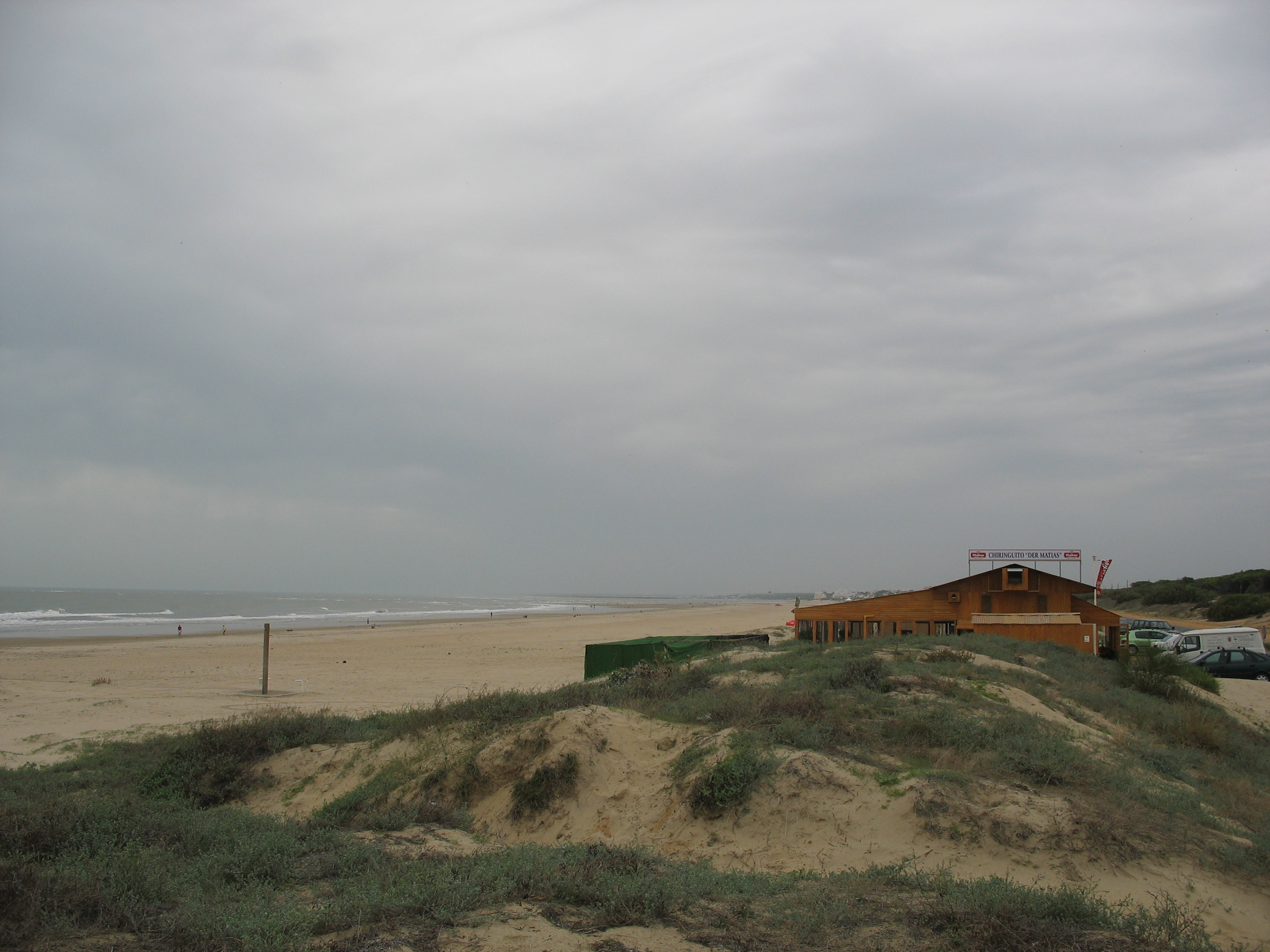 Foto playa La Bota. Chiringuito Der Matias (Punta Umbria)