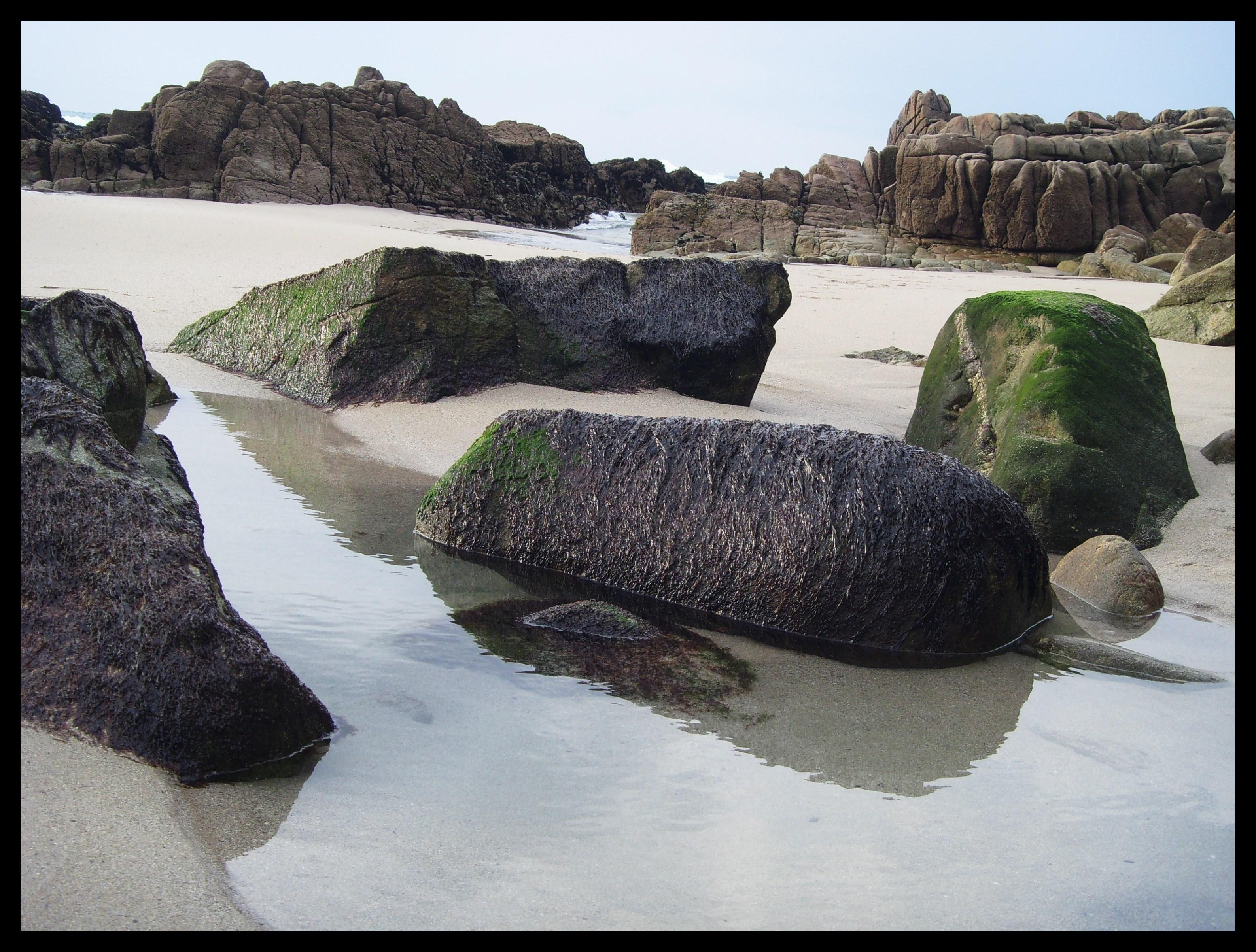 Foto playa La Hucha / Area Pequena / A Hucha. PARA TODOS LOS   PAPIS  Y JOSES DE PANO ,OS DESEO UN MARAVILLOSO Y FELIZ