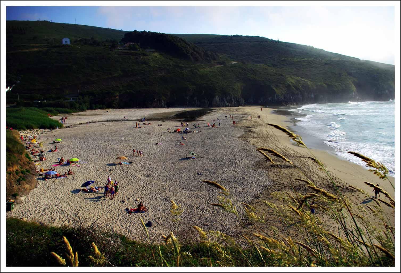 Foto playa La Hucha / Area Pequena / A Hucha. Valcobo  (A Vaca)