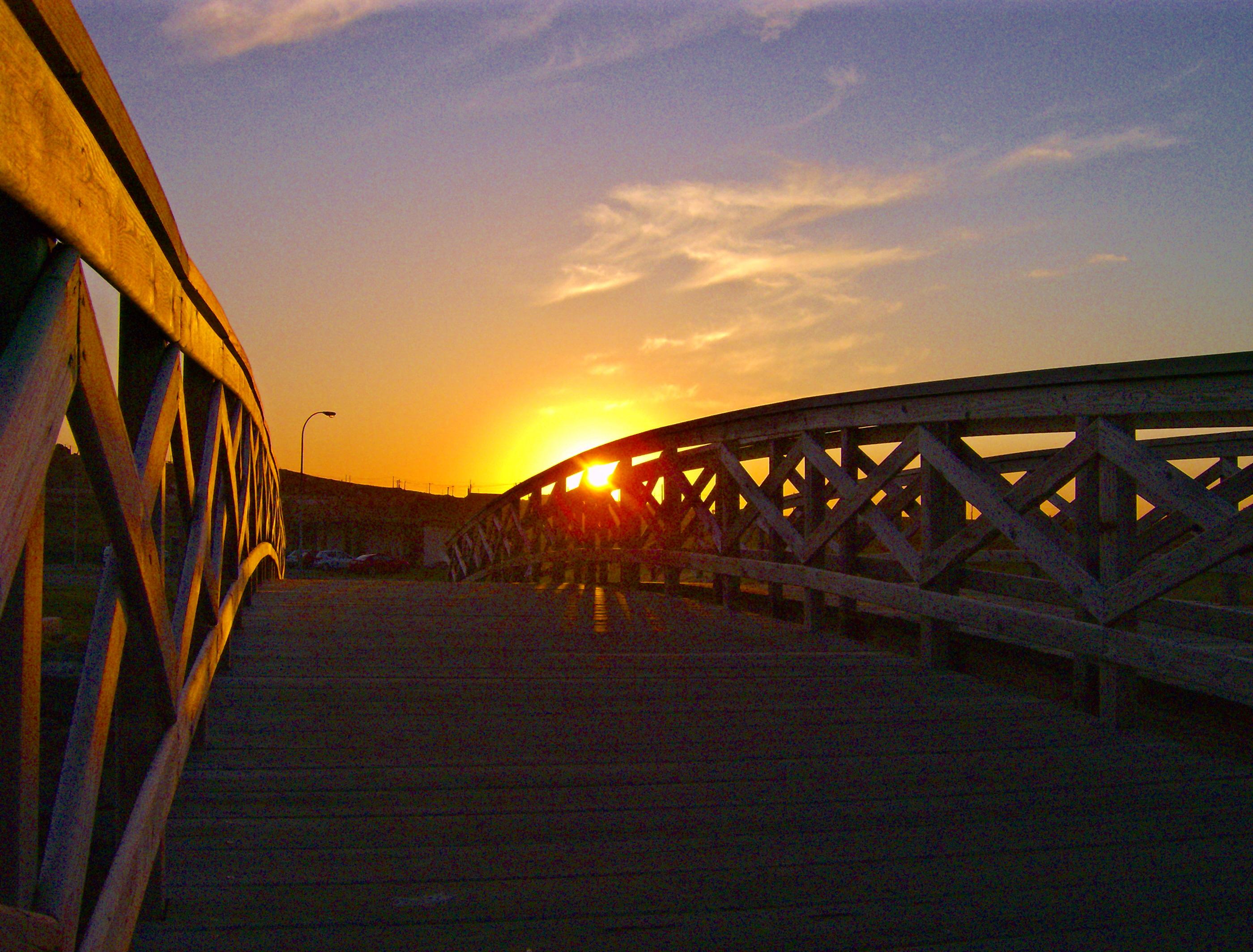 Foto playa Sabón / Alba. Atrapado en el puente-Caught in the bridge!!