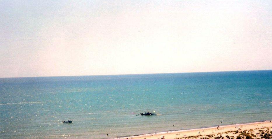 Foto playa La Bota. Línea de Playa-Punta Umbria-Huelva-España