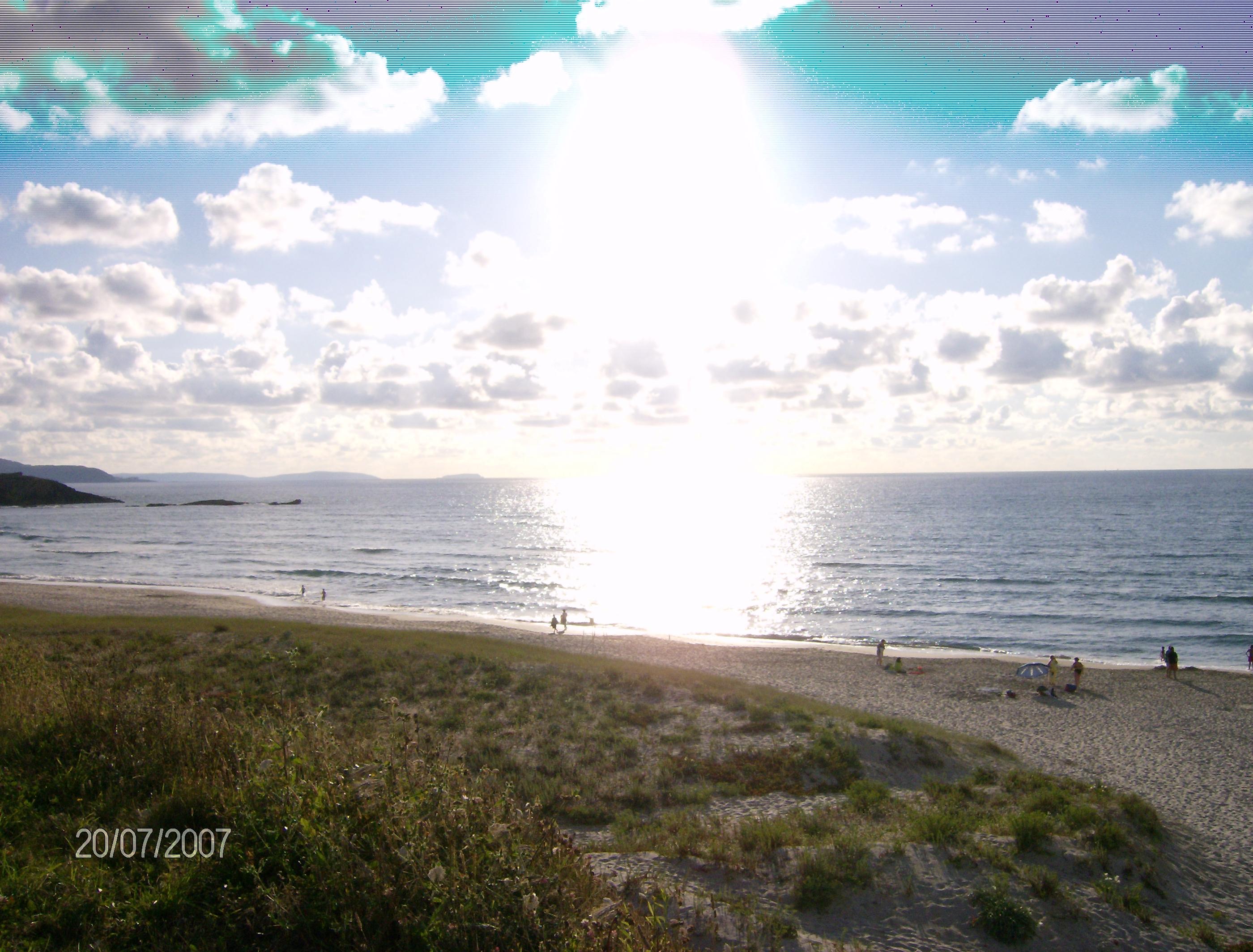 Foto playa Sabón / Alba. Playa de Alba (Arteixo)