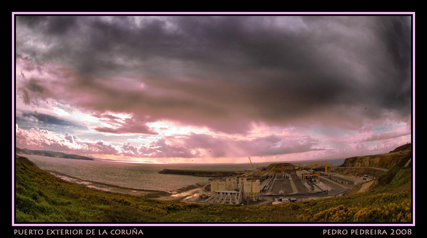 Foto playa Suevos / Area Grande. Puerto exterior abril 08