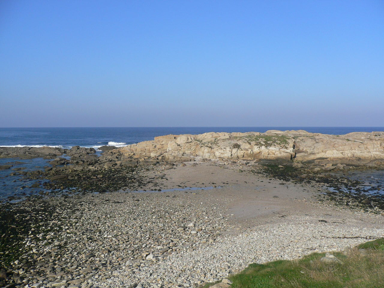 Foto playa Bens. Isla Redonda